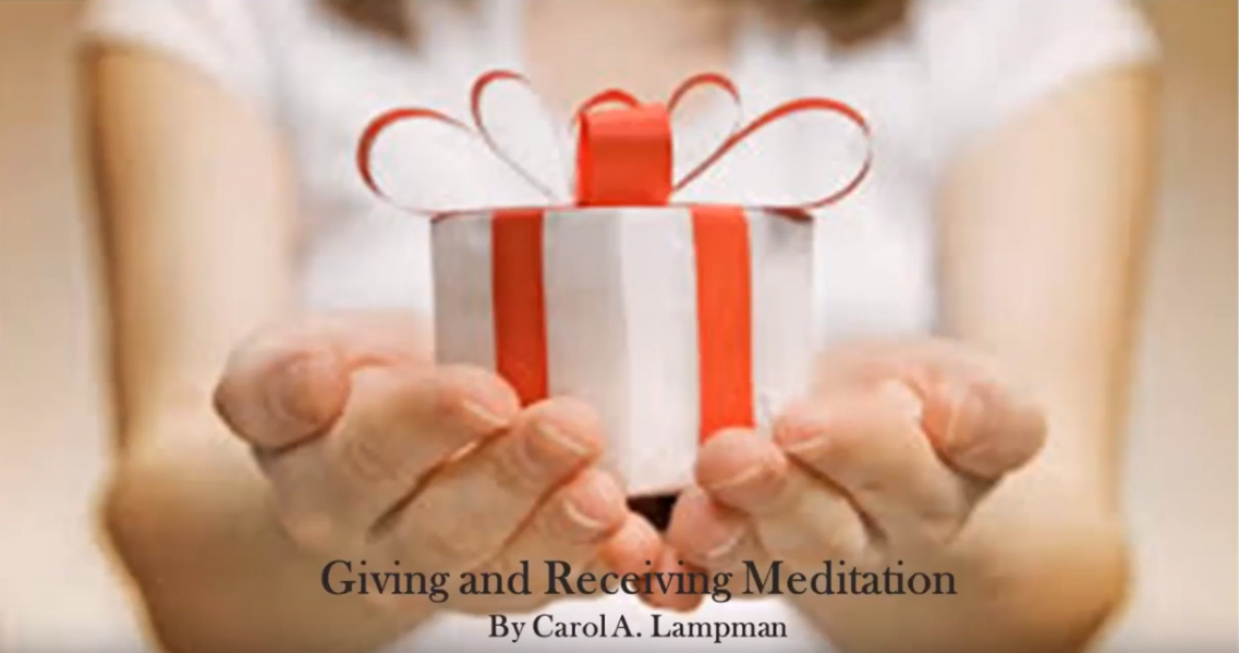 Giving and Receiving