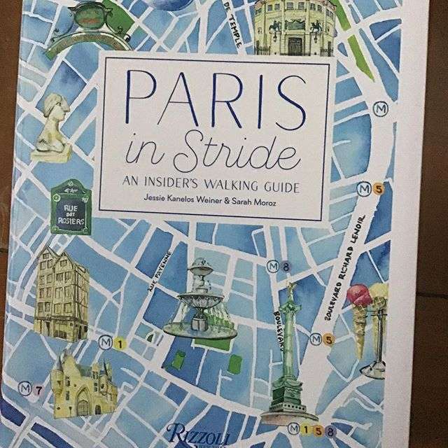 Getting ready for a return trip and I am going to be packing this gem. #paris #rizzolibooks #parisinstride @subtextbooks