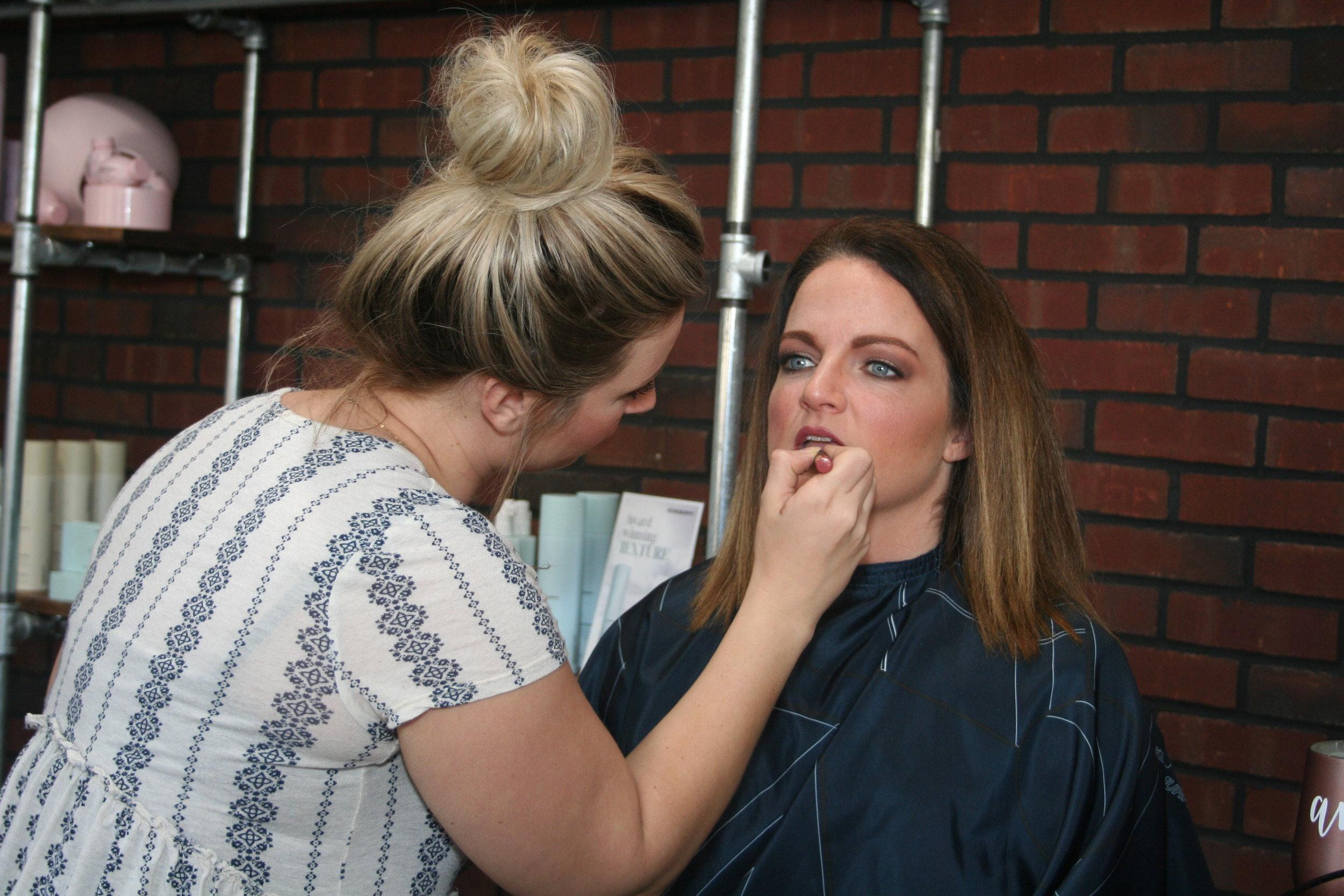michelle doing makeup.JPG