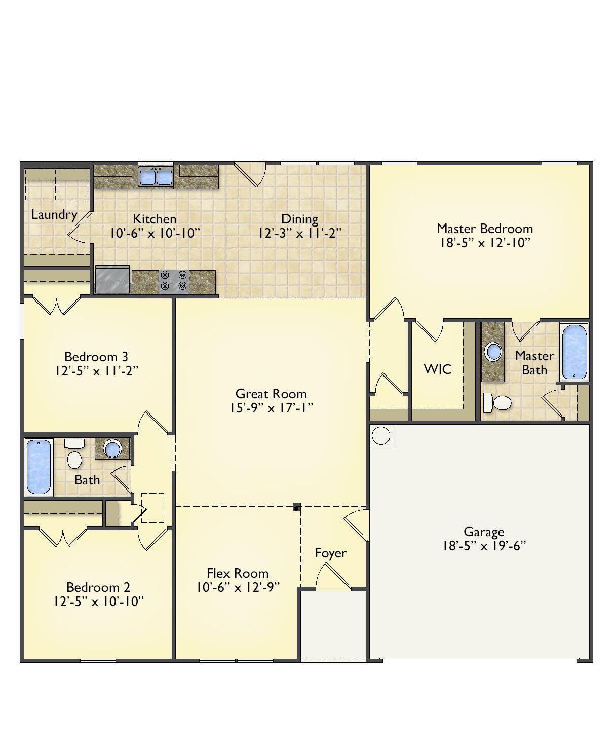 First Floor Plan -