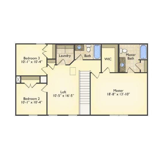Second Floor Plan -