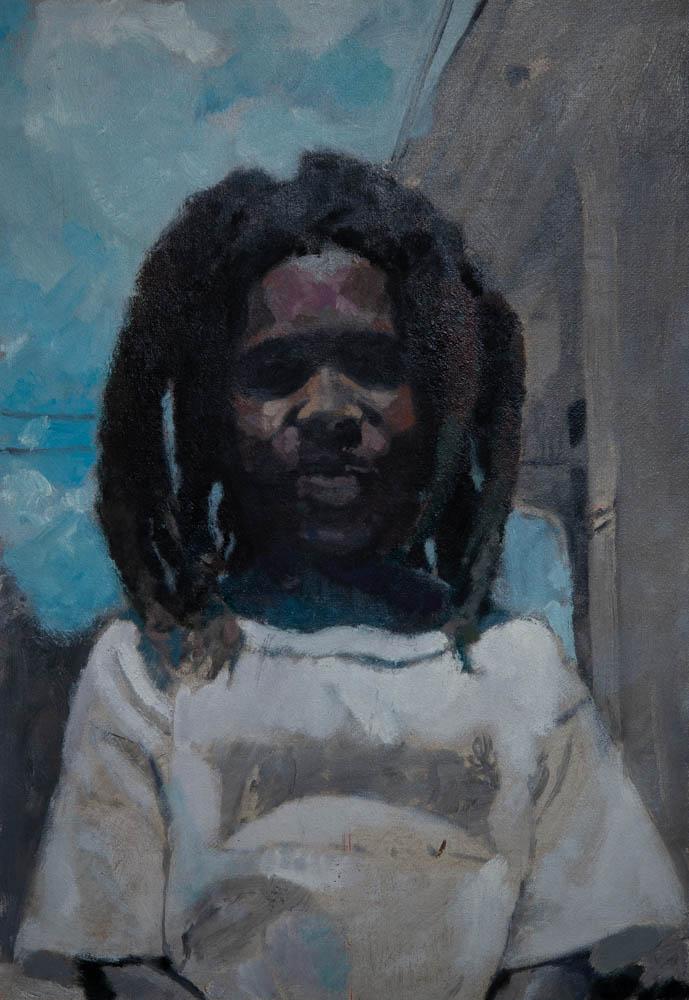"""Jeff 26"""" x 18"""" Oil on Canvas"""