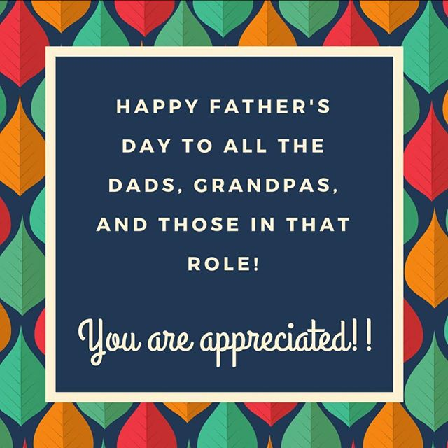 We love dads, dads to be, dads hoping to be, and anyone in that role 💚 #happyfathersday #birthfitgrovecity #birthfit