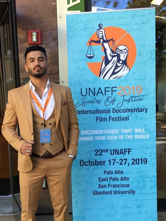 Hameed representing at UNAFF!