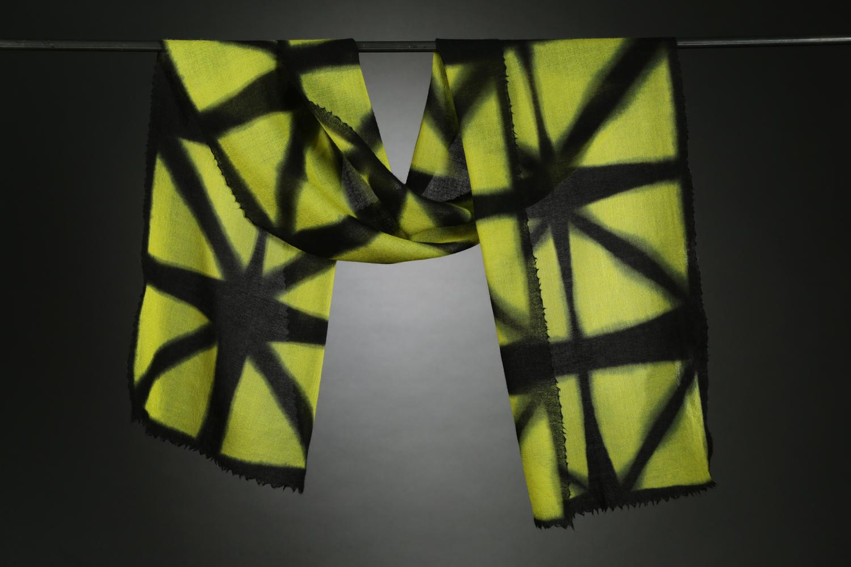 """Wool Gauze Series I"", Textile ""70"" X 14"" $200"