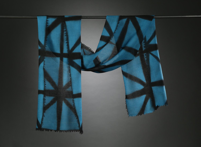 """Wool Gauze Series III"""", Textile, 70"""" X 14"""", $200"""