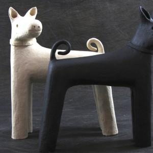 """Dog"" ceramic 12"" x 10"" x 5"" $310 each"