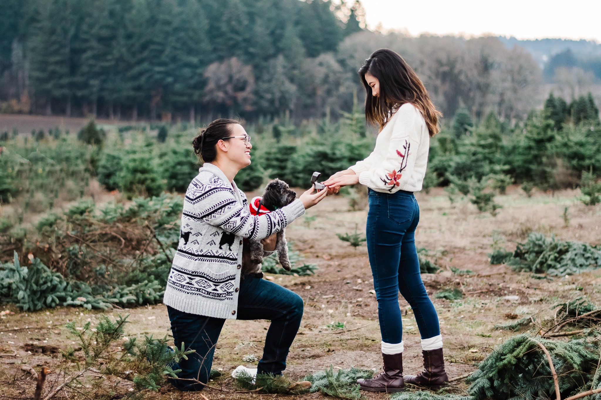 surprise proposal photography in Portland Oregon