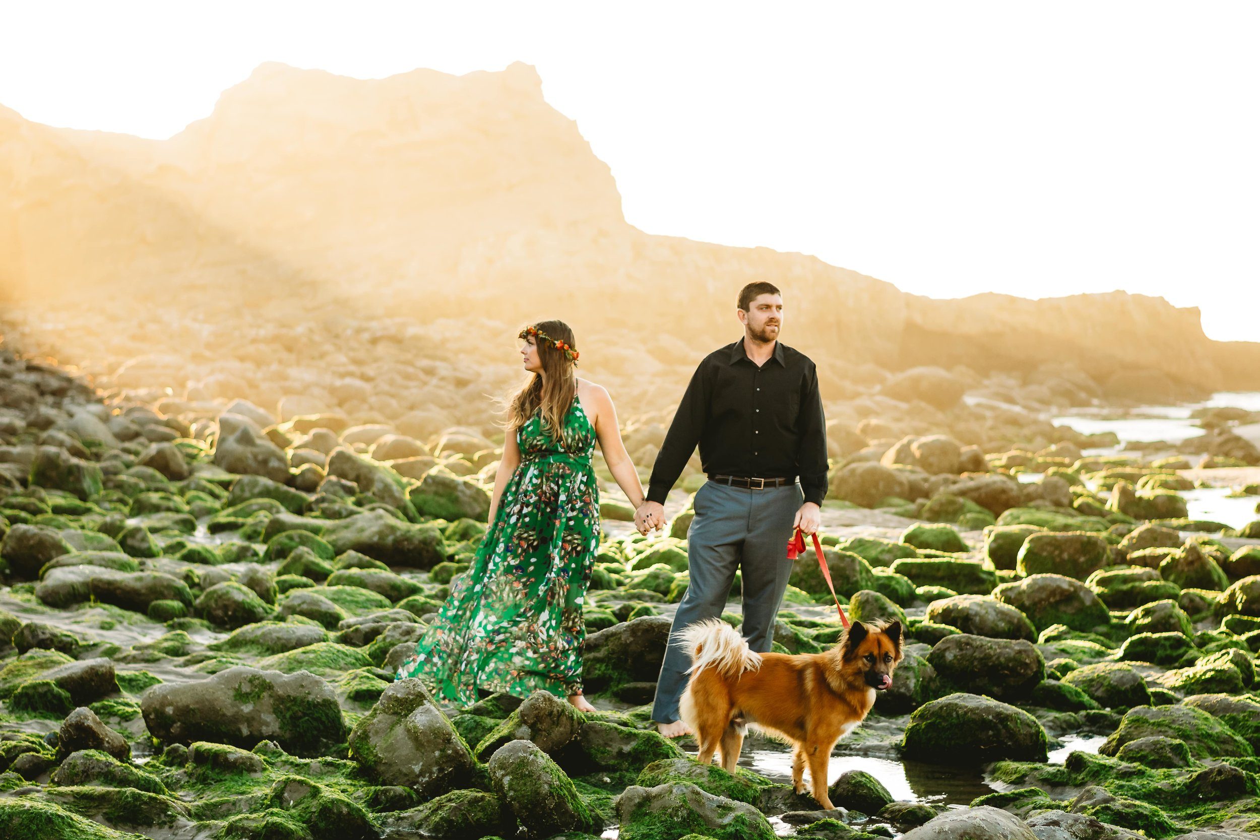 Anniversary couples photo session at the Oregon Coast by Elizabeth Hite Photography
