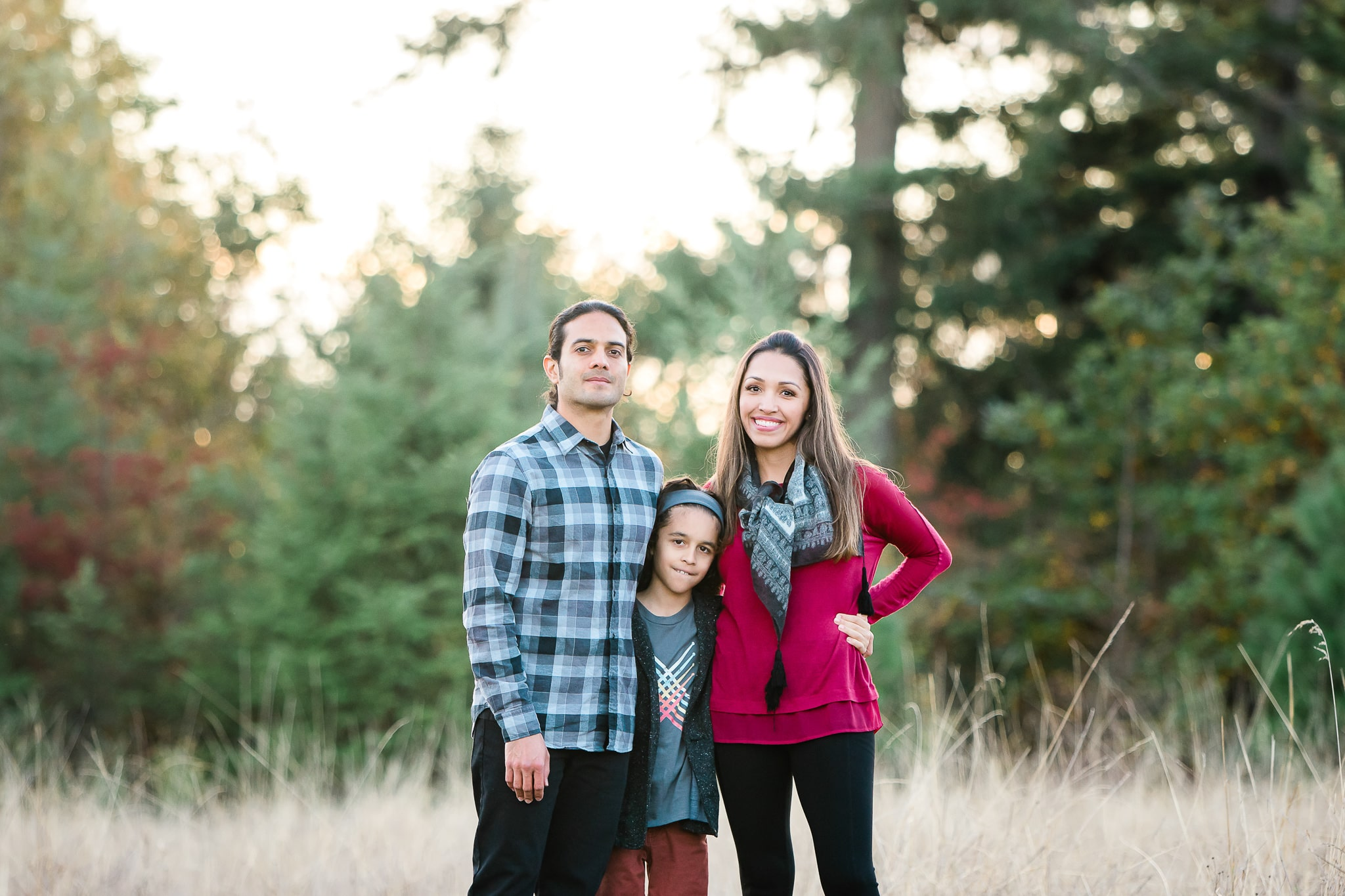 family poses for a photo by Elizabeth Hite Photography