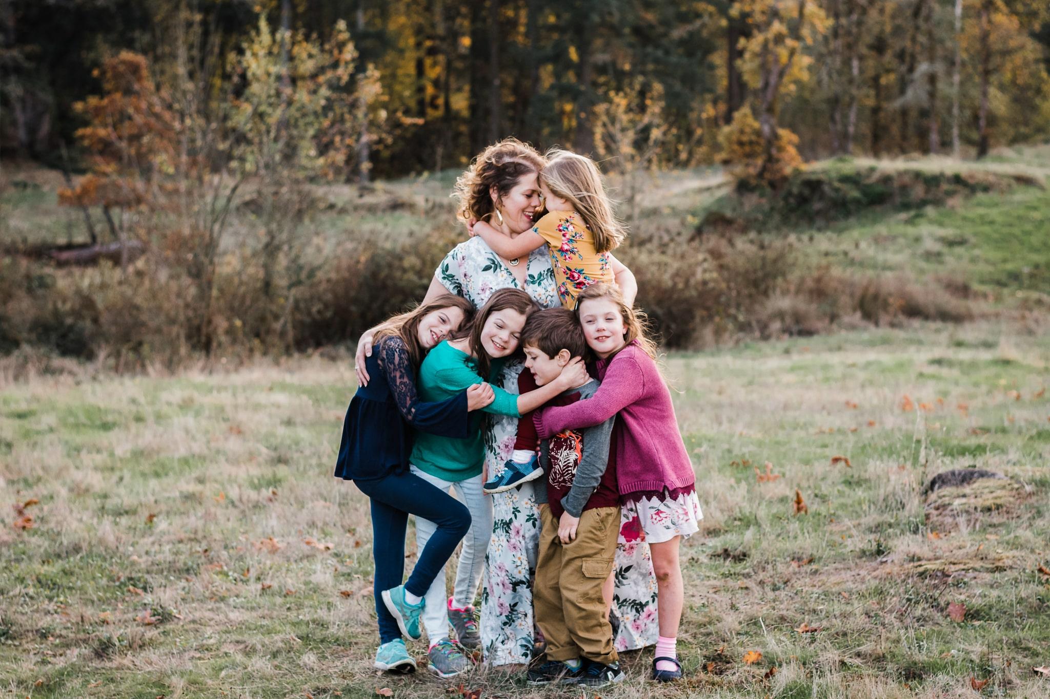motherhood photography in Portland Oreogn