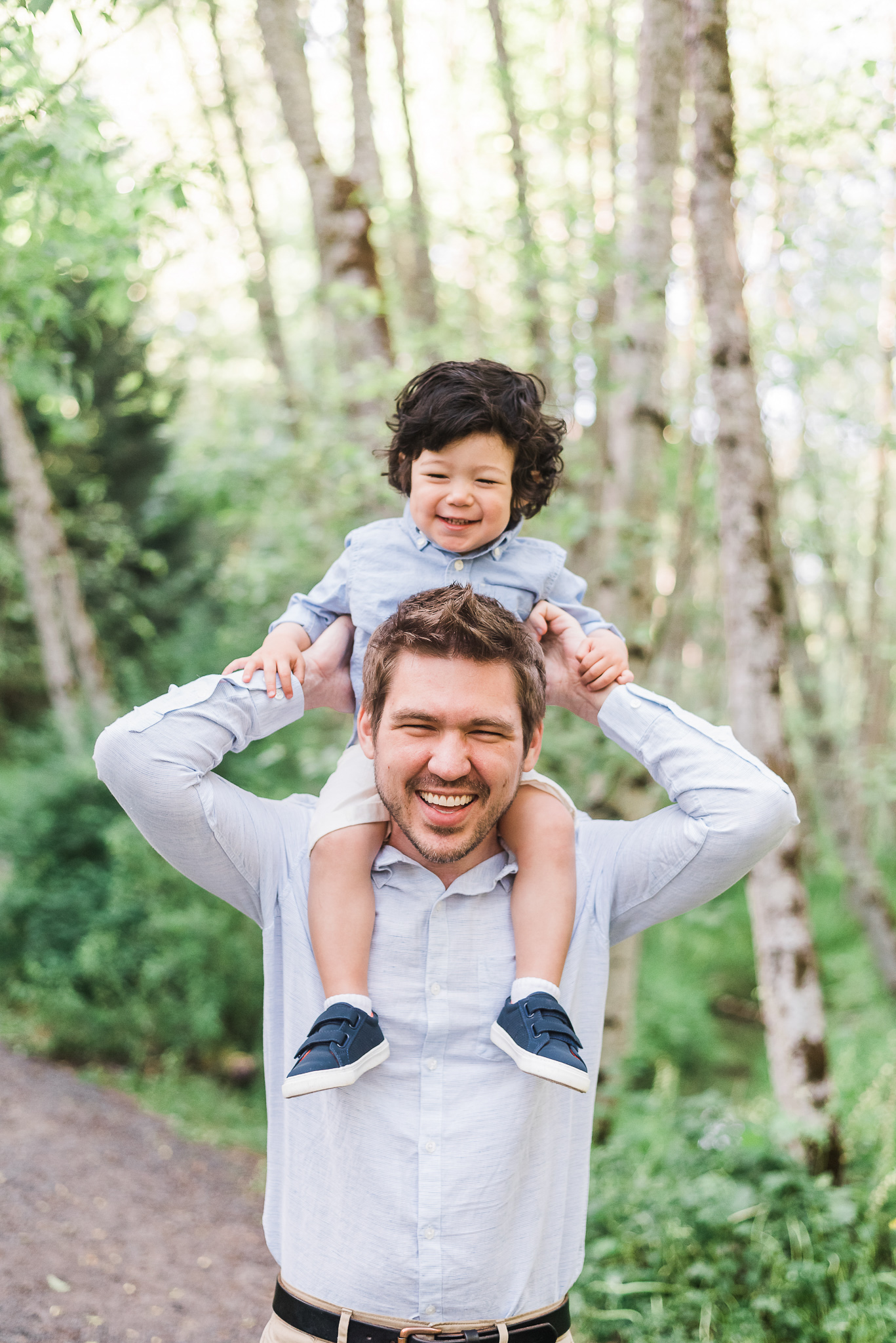 Family Photography in Portland oregon, two year old birthday photo ideas, birth announcement ideas, family photo inspiration