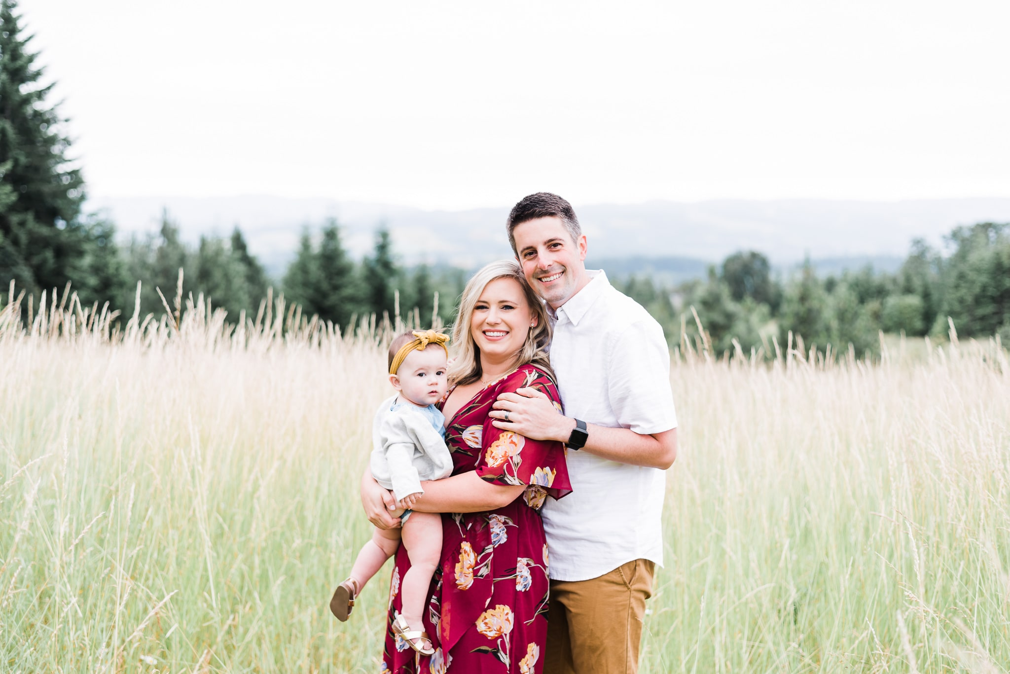 One year photos in Portland Oregon by family photographer Elizabeth Hite Photography