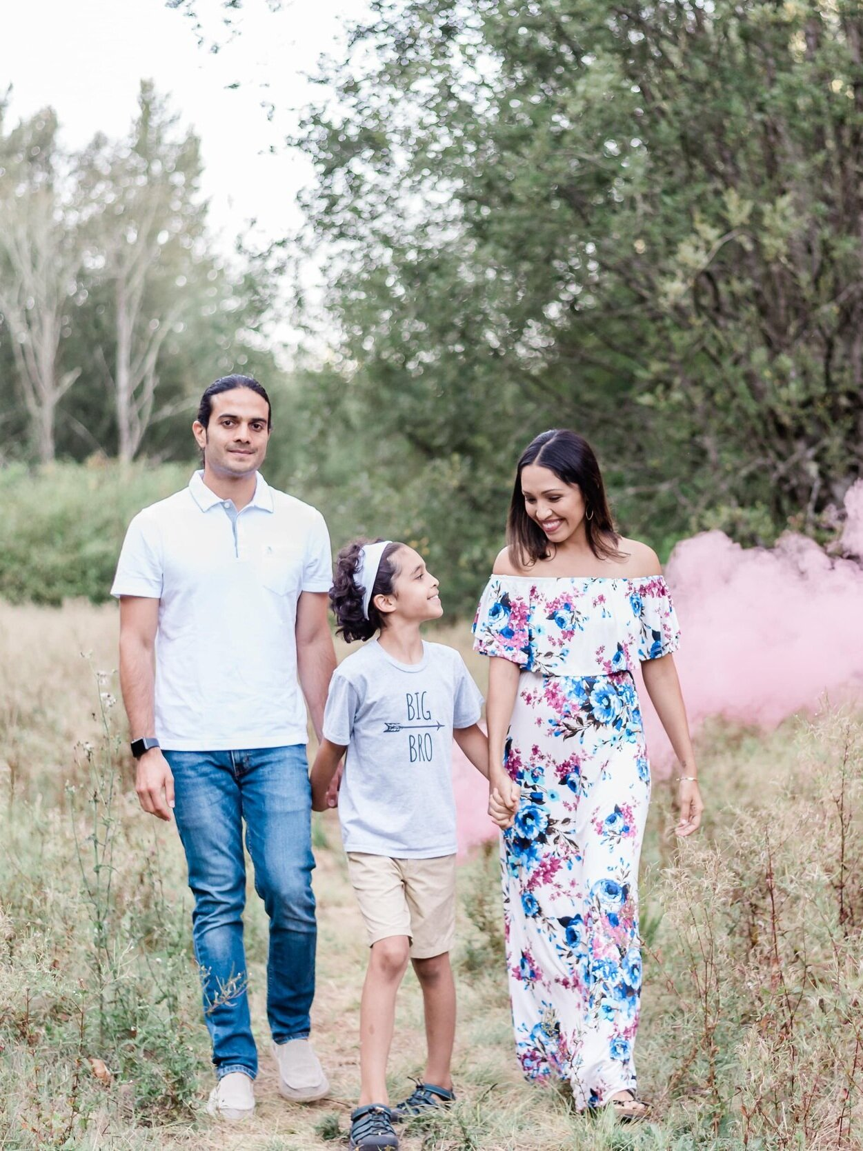 Gender Reveal Smoke Cannon|  Elizabeth Hite Photography 12