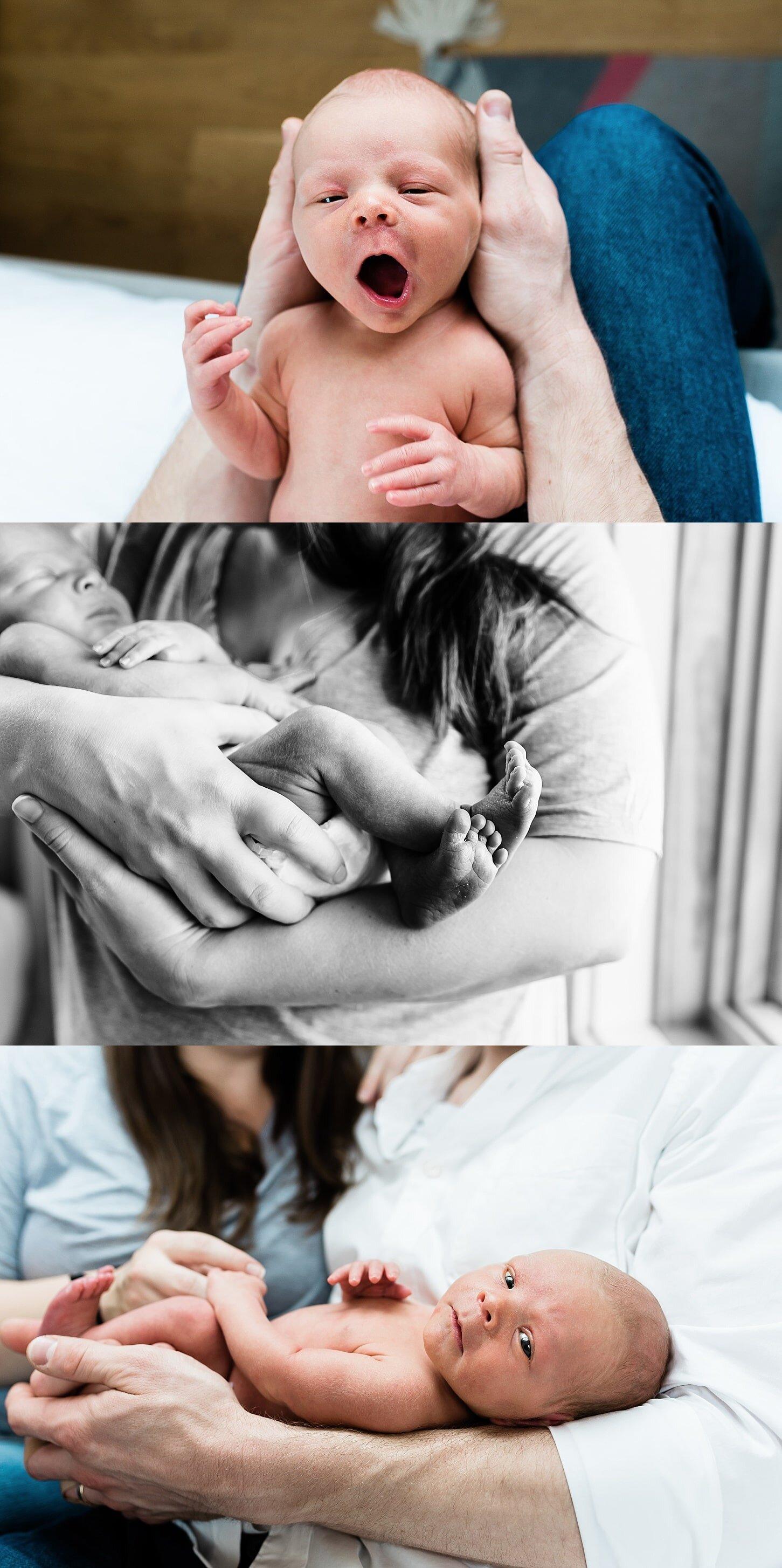 In Home Newborn Photography In Portland Oregon Baby Simon Elizabeth Hite Photography