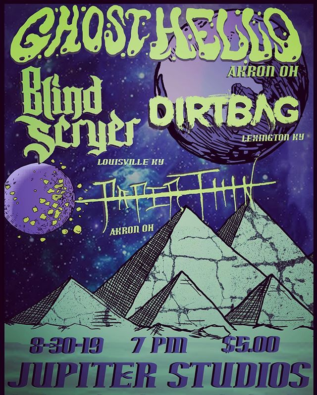 This'll be a ripper for sure. @blindscryer & Dirtbag are coming up from KY, and I haven't got to play music witj pat and the dudes in @paperthinbandoh in a good 6 years.  #stonermetal #concert #allianceohio #doom #stonerdoom #diyband #stonerdoommetal #ultraheavy #fuzzmusic #fuzz #crushinglyheavy #livemusic #livemusicrocks #diyordie #ohiometal #ohioheavymetal