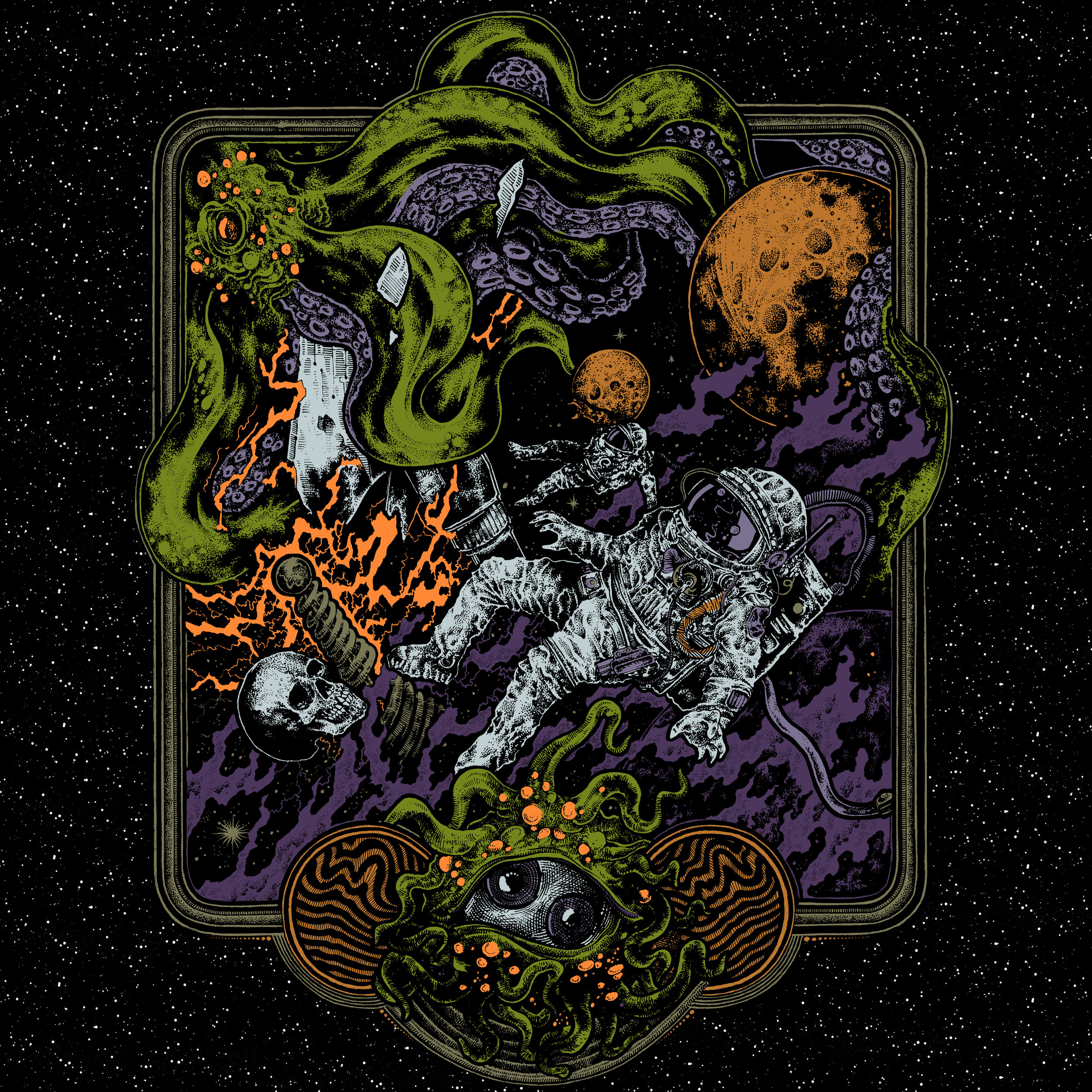 The Killchain - Album Review 08/04/19Equal parts driving stoner rock and weird darkwave, Ghost:Hello have released one of this year's most interesting records.
