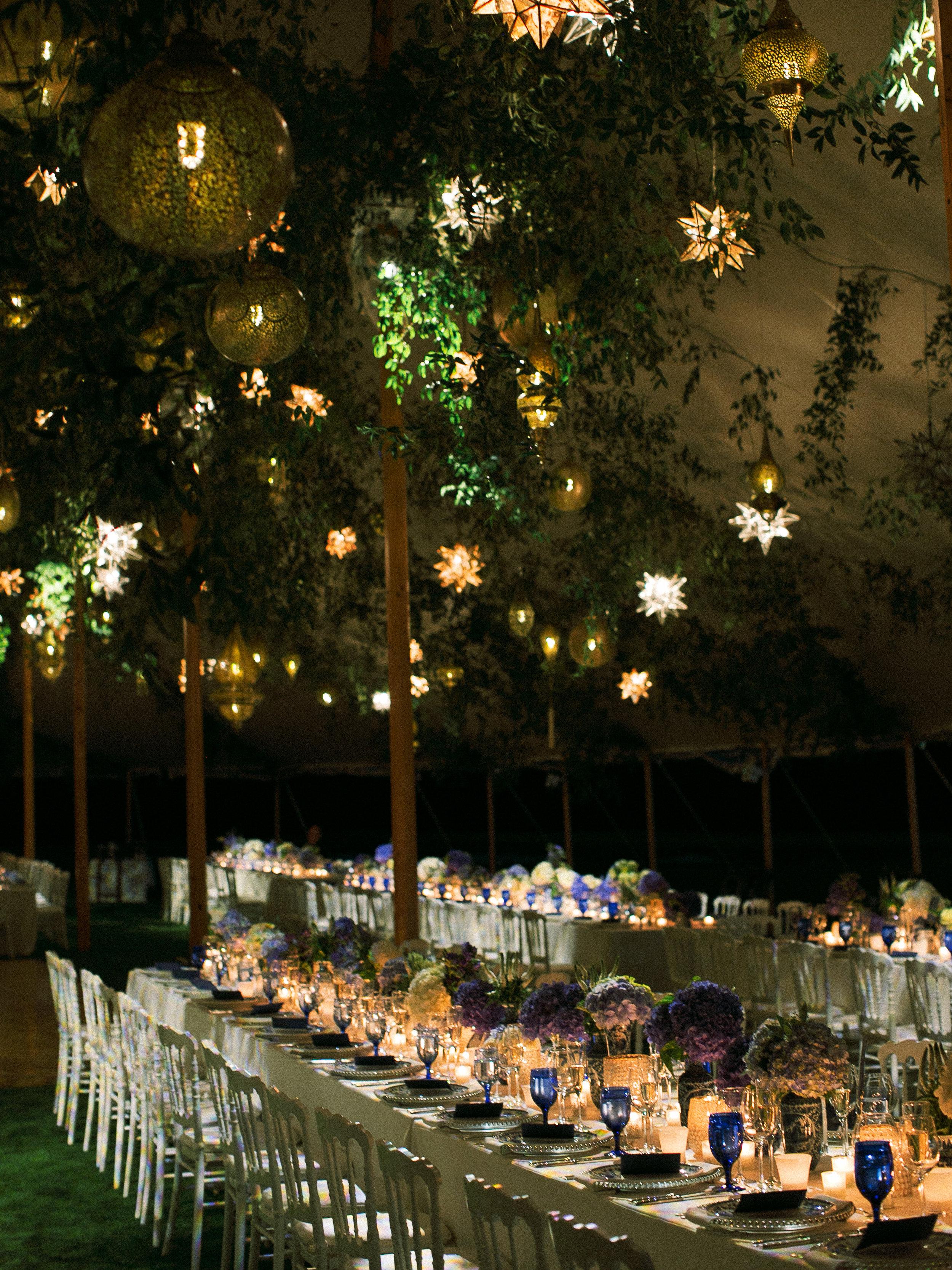 Wedding First Dance, Sperry Sail Cloth Tent Wedding, Old Fashioned Wedding, Moroccan Lantern Wedding,  Ceiling Installation, Nicole Simeral Wedding Planner