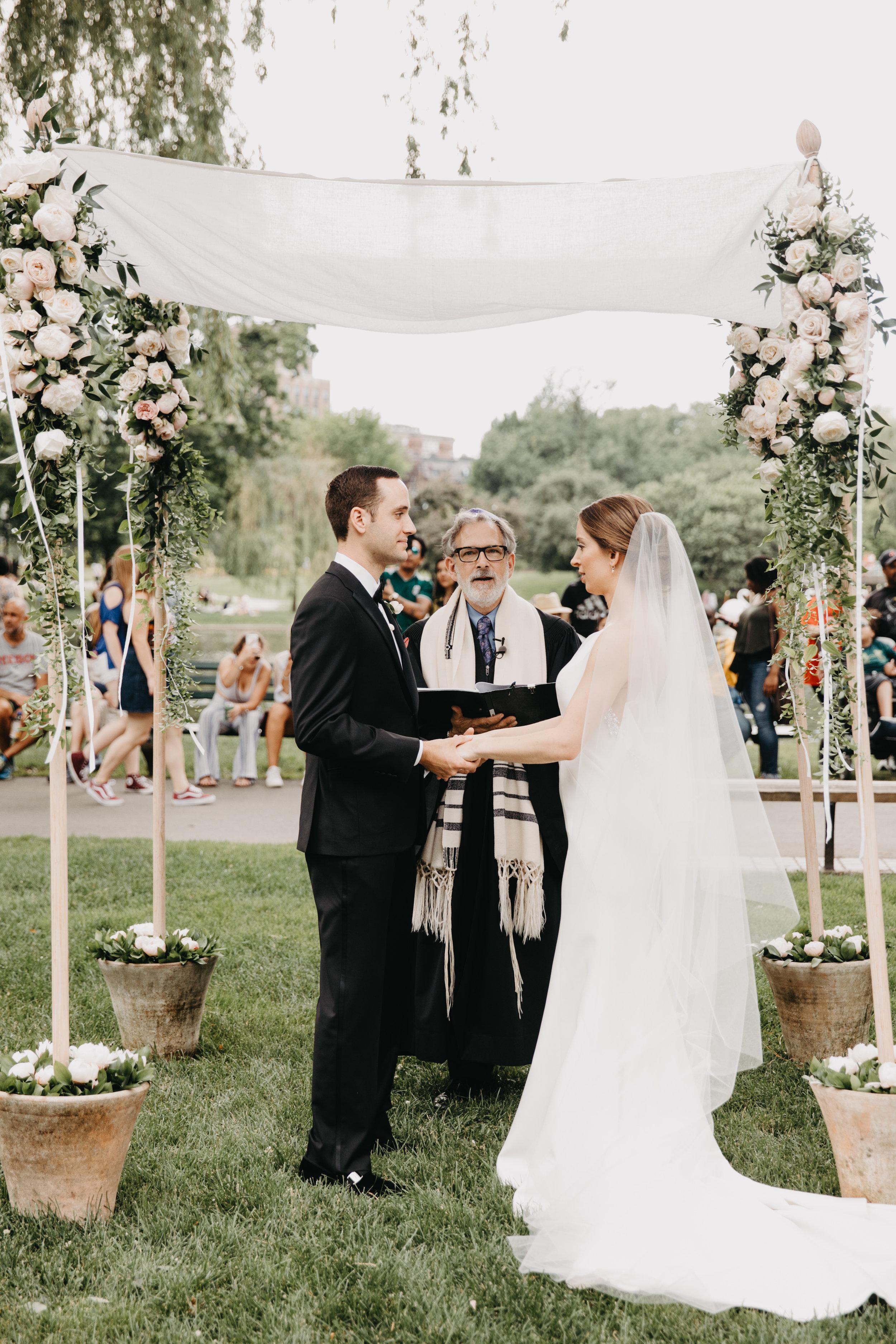 JEWISH WEDDING, BOSTON PUBLIC GARDEN, NICOLE SIMERAL, WEDDING PLANNER, FOUR SEASONS, BOSTON., DESTINATION WEDDING