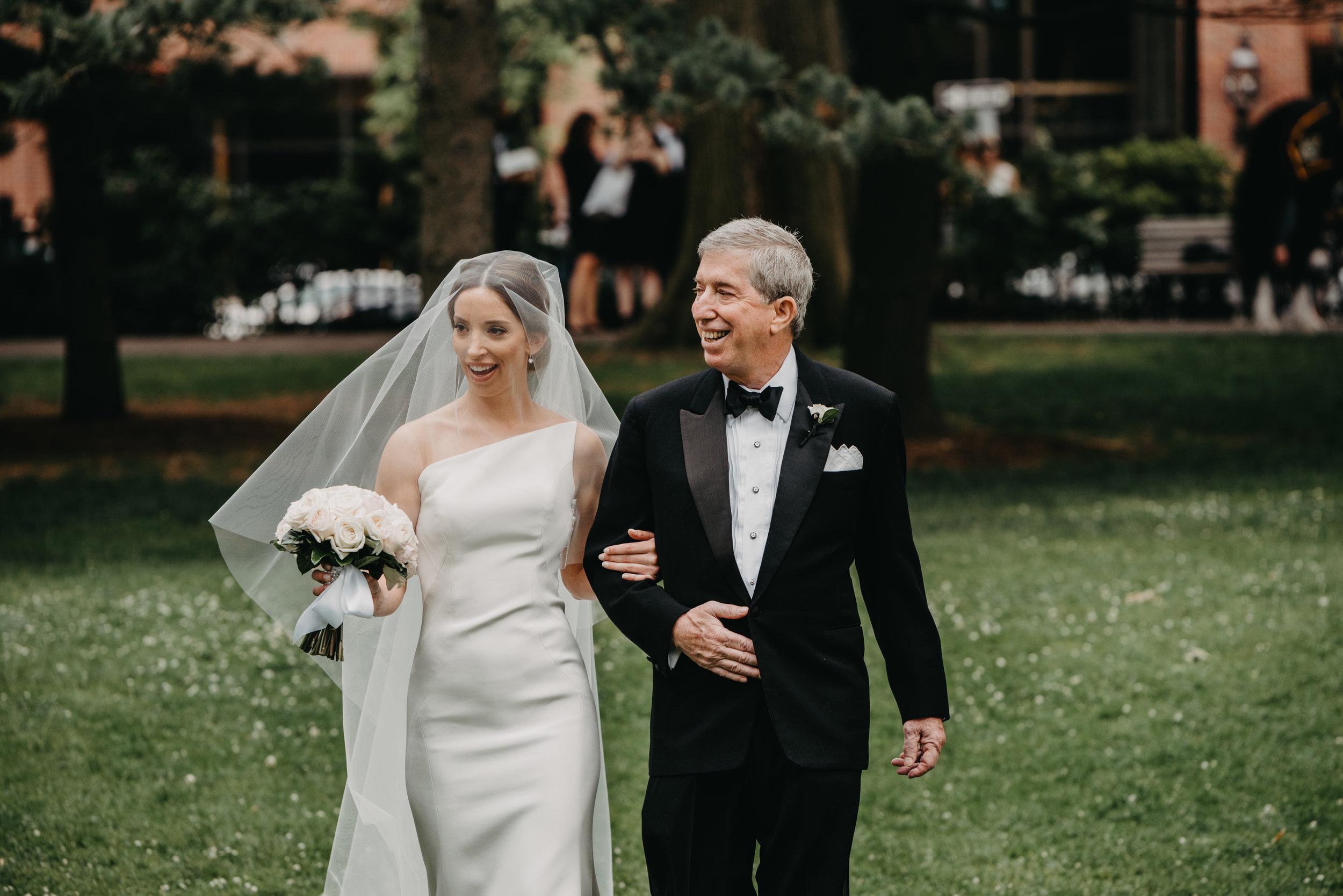 BOSTON PUBLIC GARDEN WEDDING, GARDEN WEDDING, BOSTON WEDDING PLANNER, NICOLE SIMERAL, FOUR SEASONS WEDDING, CLASSIC, TIMELESS, WEDDING WEDDING PLANNER, DESTINATION WEDDING, FATHER OF THE BRIDE