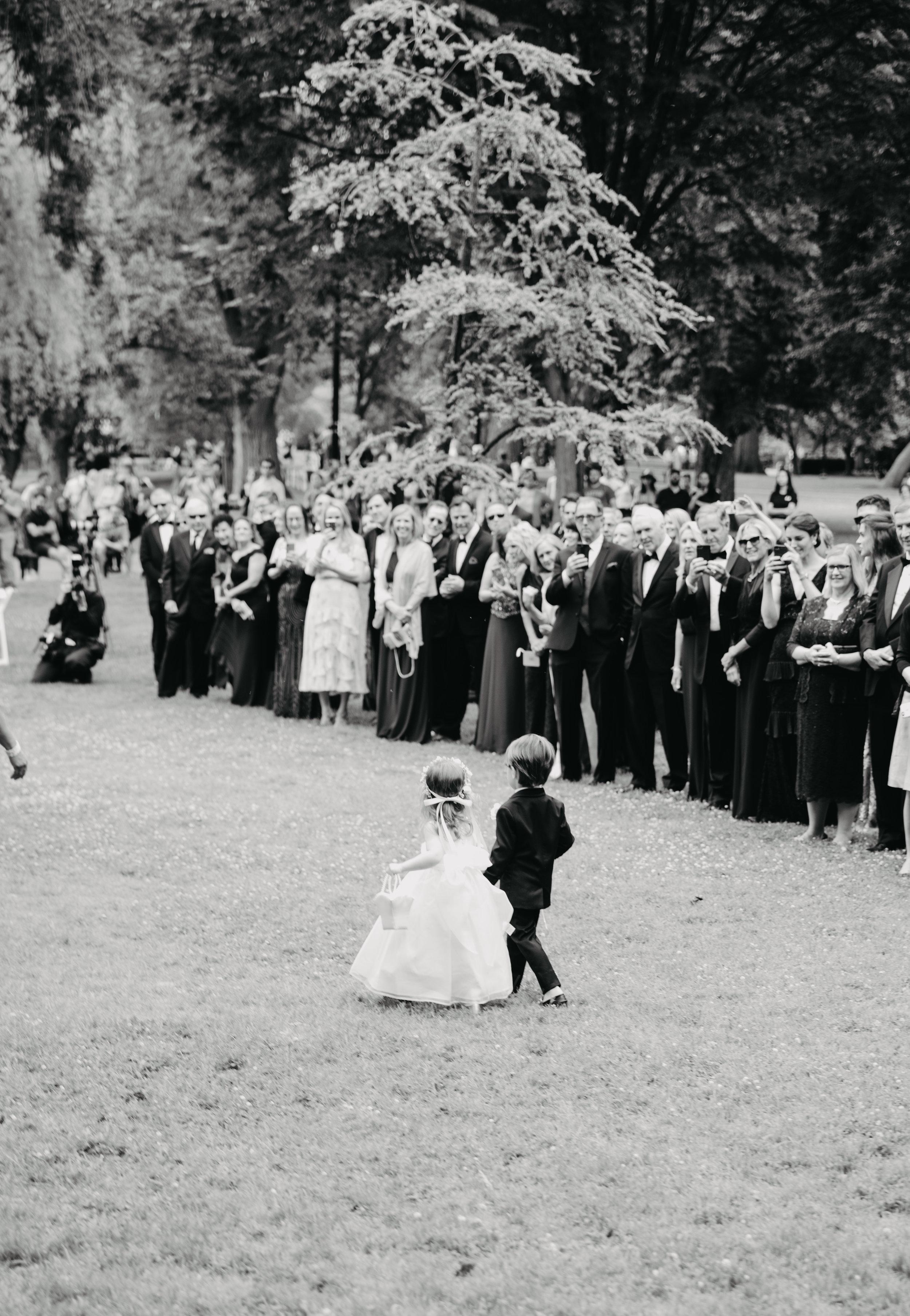 BOSTON PUBLIC GARDEN WEDDING, GARDEN WEDDING, BOSTON WEDDING PLANNER, NICOLE SIMERAL, FOUR SEASONS WEDDING, CLASSIC, TIMELESS, WEDDING WEDDING PLANNER, DESTINATION WEDDING, FLOWER GIRL, RING BEARER