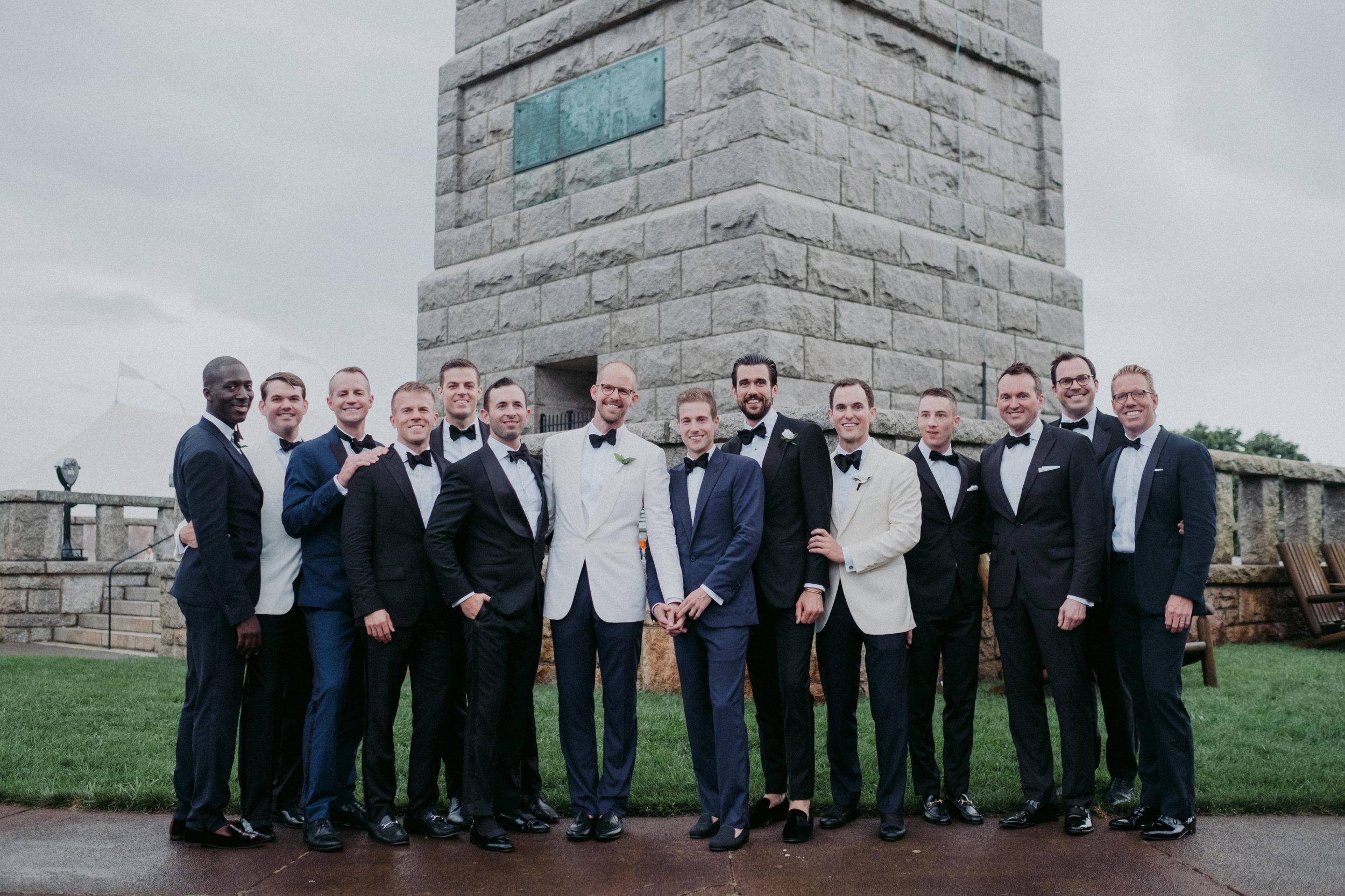 Same Sex Wedding in Provincetown, MA. Destination wedding planned by Nicole Simeral. Coastal Chic Wedding, Travel Wedding, Sperry Sailcloth Tent Wedding.  Getting Ready, Rain, Rainbow, Miracle