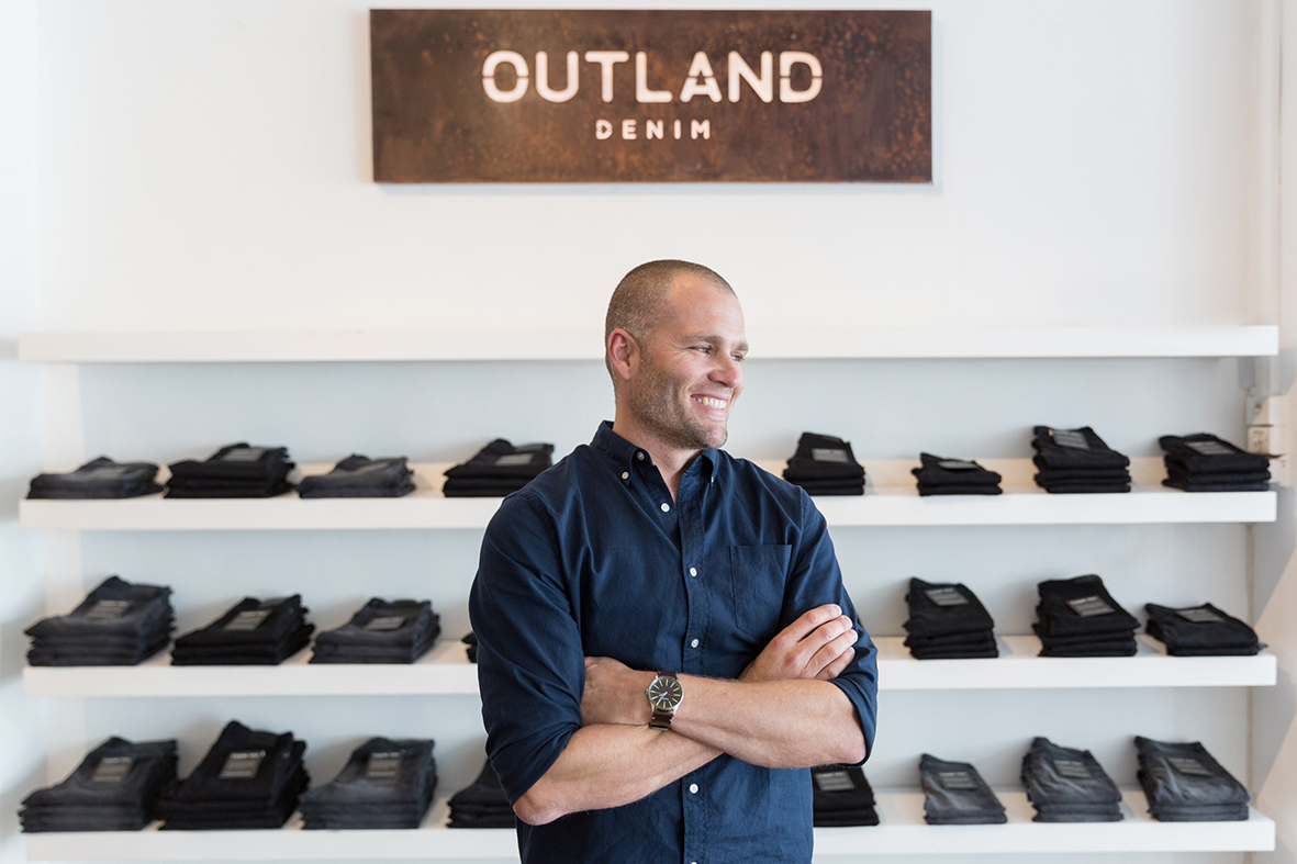 James Bartle - CEO, Outland Denim