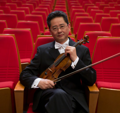 """Li Kaixiang - Li Kaixiang is Head of Wind and Strings Department at the Sichuan Conservatory of Music. His passion has also led him to take on the Vice President position at the Violin Art Research Institute and President position at the Sichuan Violin Society. As an active artist in the field of Arts, Li Kaixiang received the """" Sichuan Outstanding Young Professional"""" Award as well as the """"Sichuan Arts and Culture Award"""".His artistic talent had won him the awards from the Ministry of Culture for the best Chinese Work, from the 5th China Arts Festival – Outstanding Performer Award and from the Sichuan Music Festival- first prize, amongst other major awards.As an educator, many of his students have successfully won awards in both national and international violin competitions. His excellence in teaching is acknowledged by, the Ministry of Culture and was awarded with the """"Excellence in Teaching"""" and """"Outstanding Educator Award"""" award. In Sichuan, he received both the """"Higher Education Teaching Award"""" and """"Outstanding Contribution Award"""".These led to him to receive funding from the German DAAD in 2001 to further his study in violin and chamber music in Germany as a senior visiting scholar. Invitations from United States, Canada, Germany, Italy, Japan, Thailand, Singapore, Taiwan, Hong Kong enriched his performing and educating life.In the past 10 years, he had regularly judged in national and international violin competitions. They include, the Ministry of Culture Arts Festival Youth Violin Competitions, CCTV Piano and Violin Competition, Golden Bell Violin Competition, International String Competition in Hong Kong, Italy Violin Competition, Chengdu Guangya International Violin Competition, Jinzhongjiang Violin Competition and many others."""