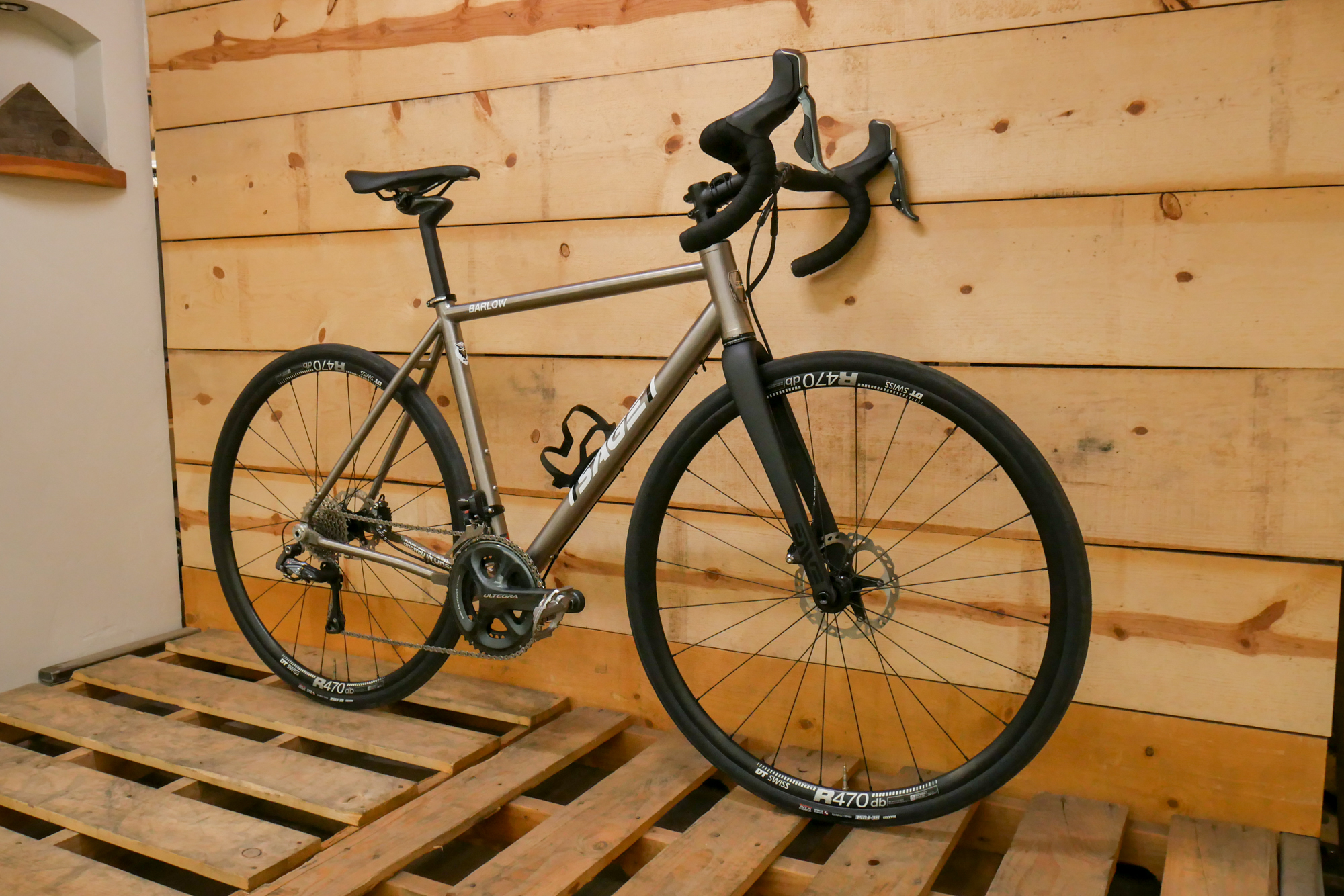 Titanium Sage Barlow built by bend Oregon bike shop, Project Bike