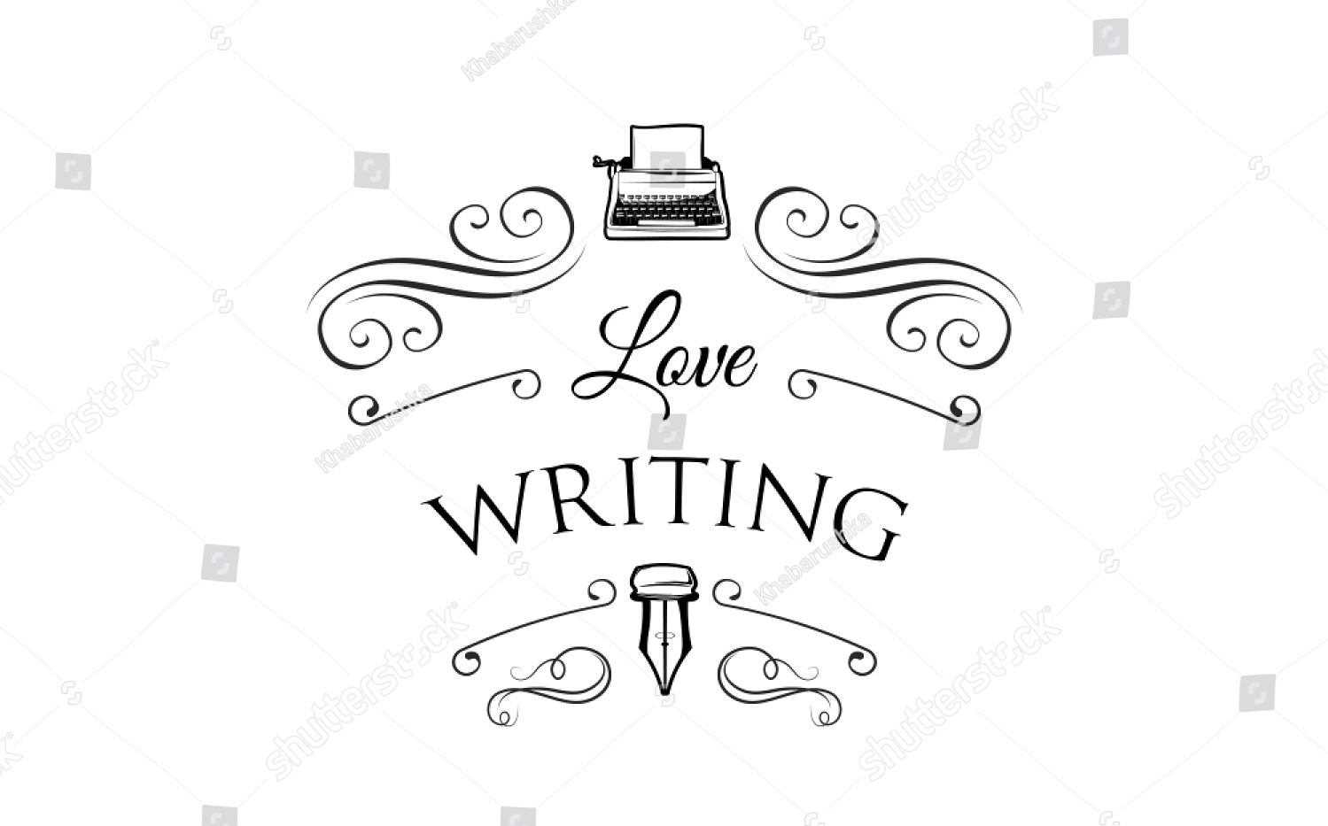 stock-vector-writer-logotype-with-typewriter-feather-and-swirls-logo-vector-illustration-isolated-on-white-1039366123.jpg