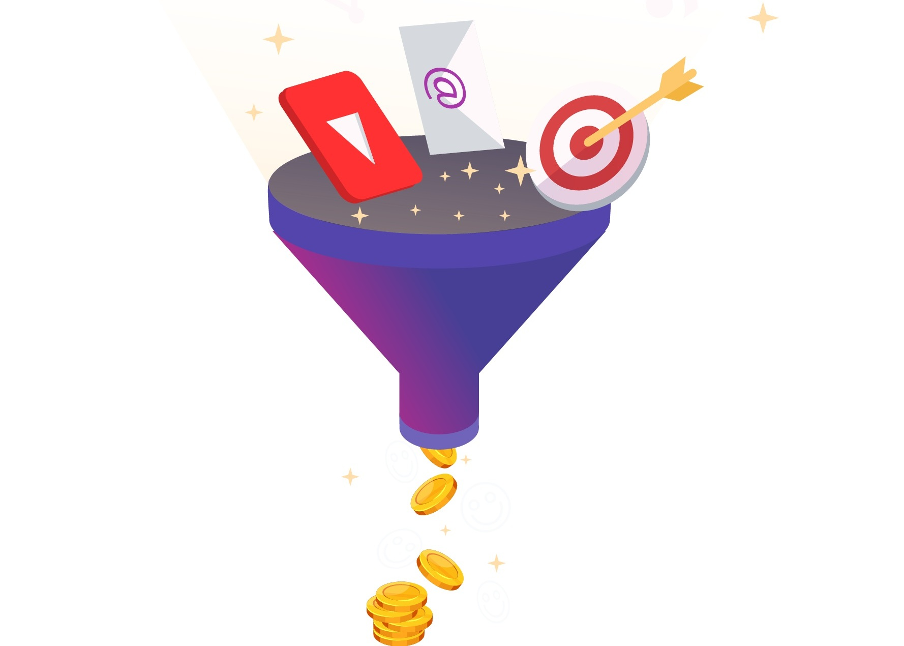 Sales Funnels - With over 4 billion active users online, our sales funnels reaches an enormous audience.Our experienced team of digital marketing experts completely understand attribution models, AI, algorithms, and know how to best use them to maximize results for your business needs.