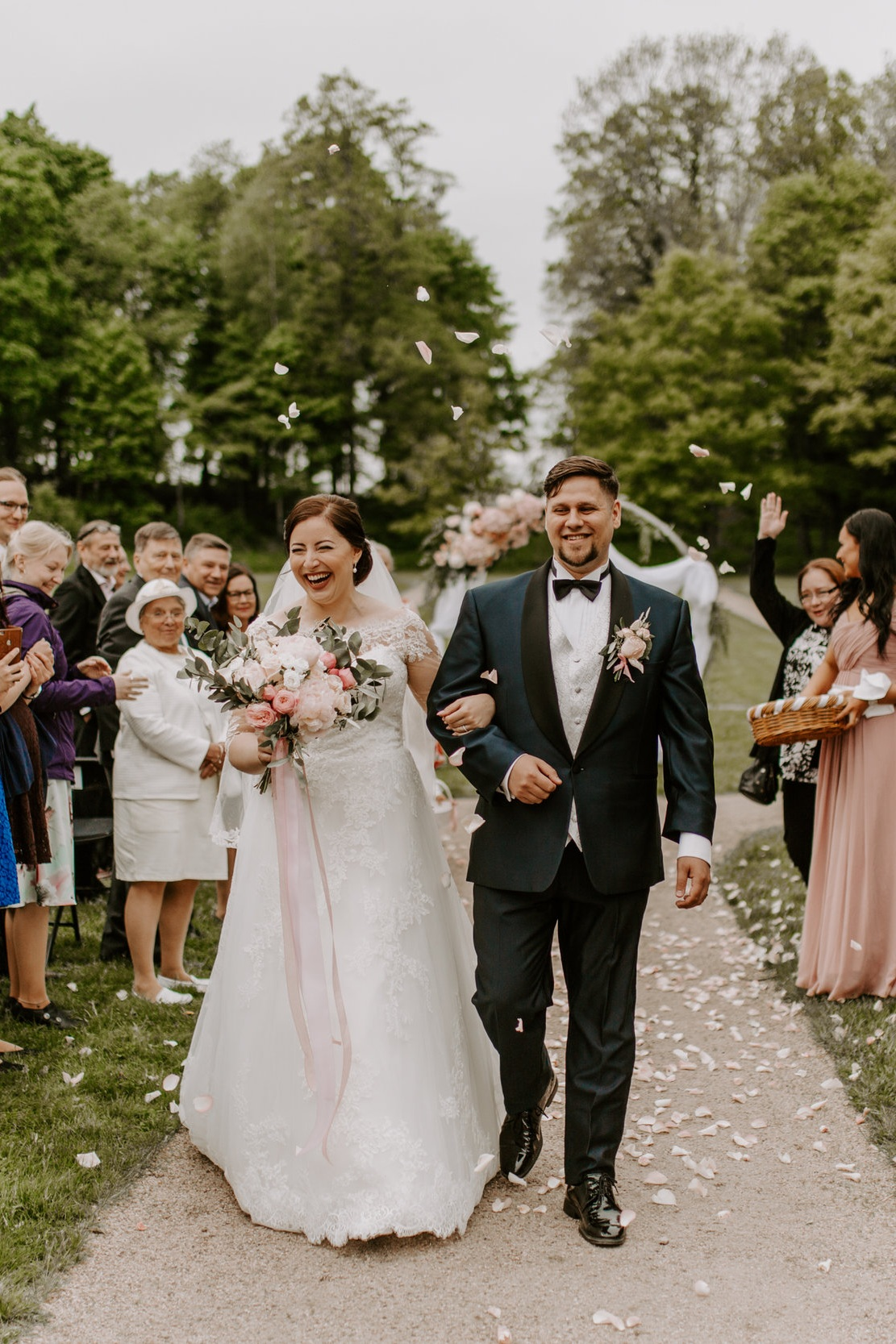 """Joonas & Samira - """"Thank you Viivi!Not only did you document the most important day of our life in a memorable and touching way, but you also put so much effort in getting to know us, planning everything ahead of time, and being on time - always. Not to forget the genuine interest for photographing and the kindness and warmth that surrounds you. You are very professional while being cheerful. We really appreciate you and your work. You soften even the hardest of rocks with your unique persona!Hugs from the happy couple!""""- Samira and Joonas"""