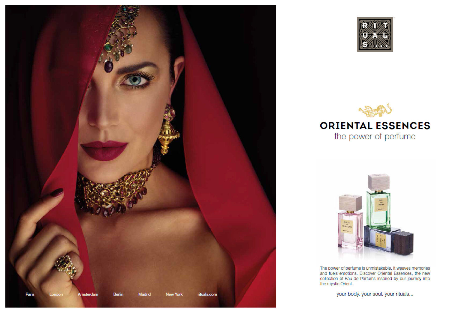 ad campaign Oriental Essences