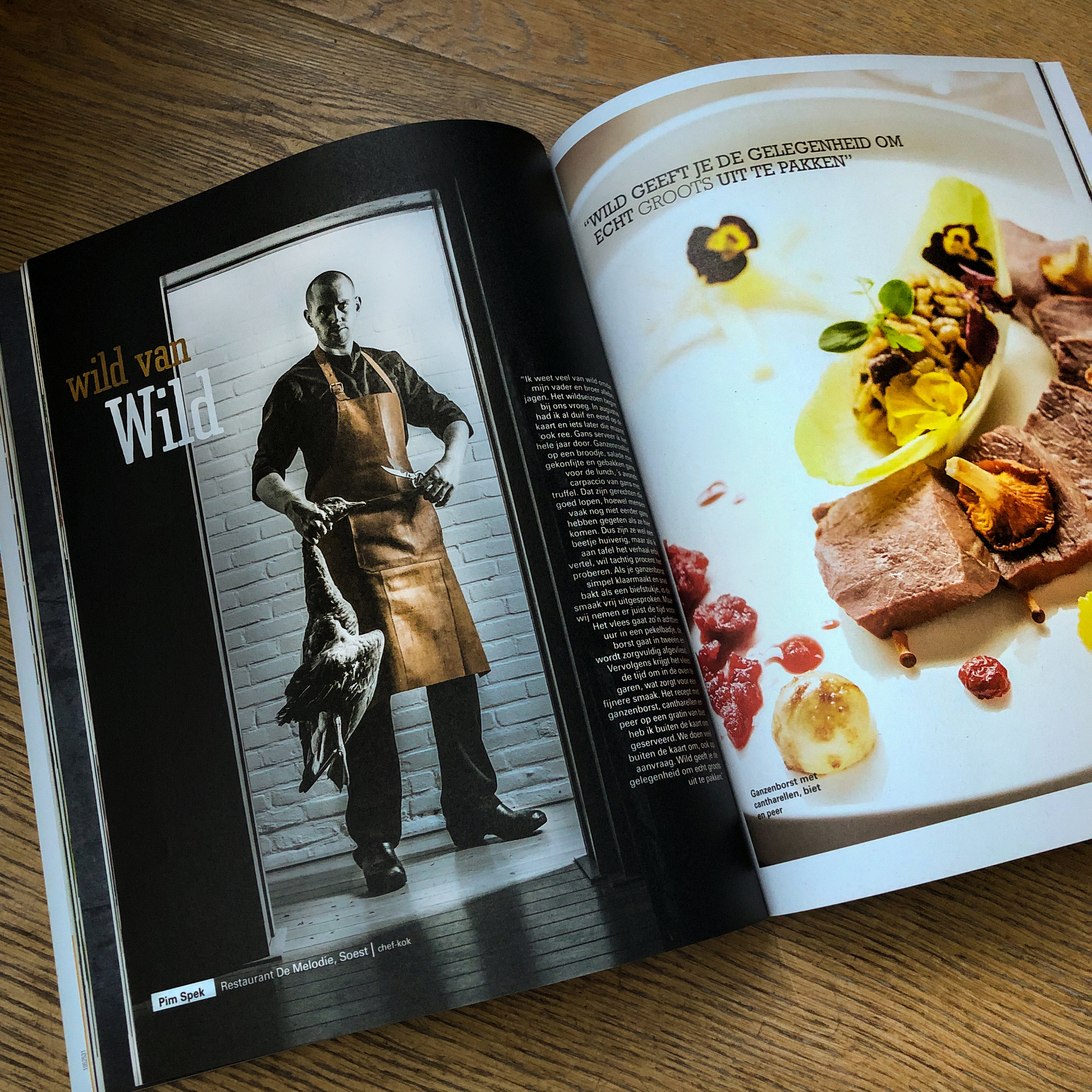 new magazine for chefs