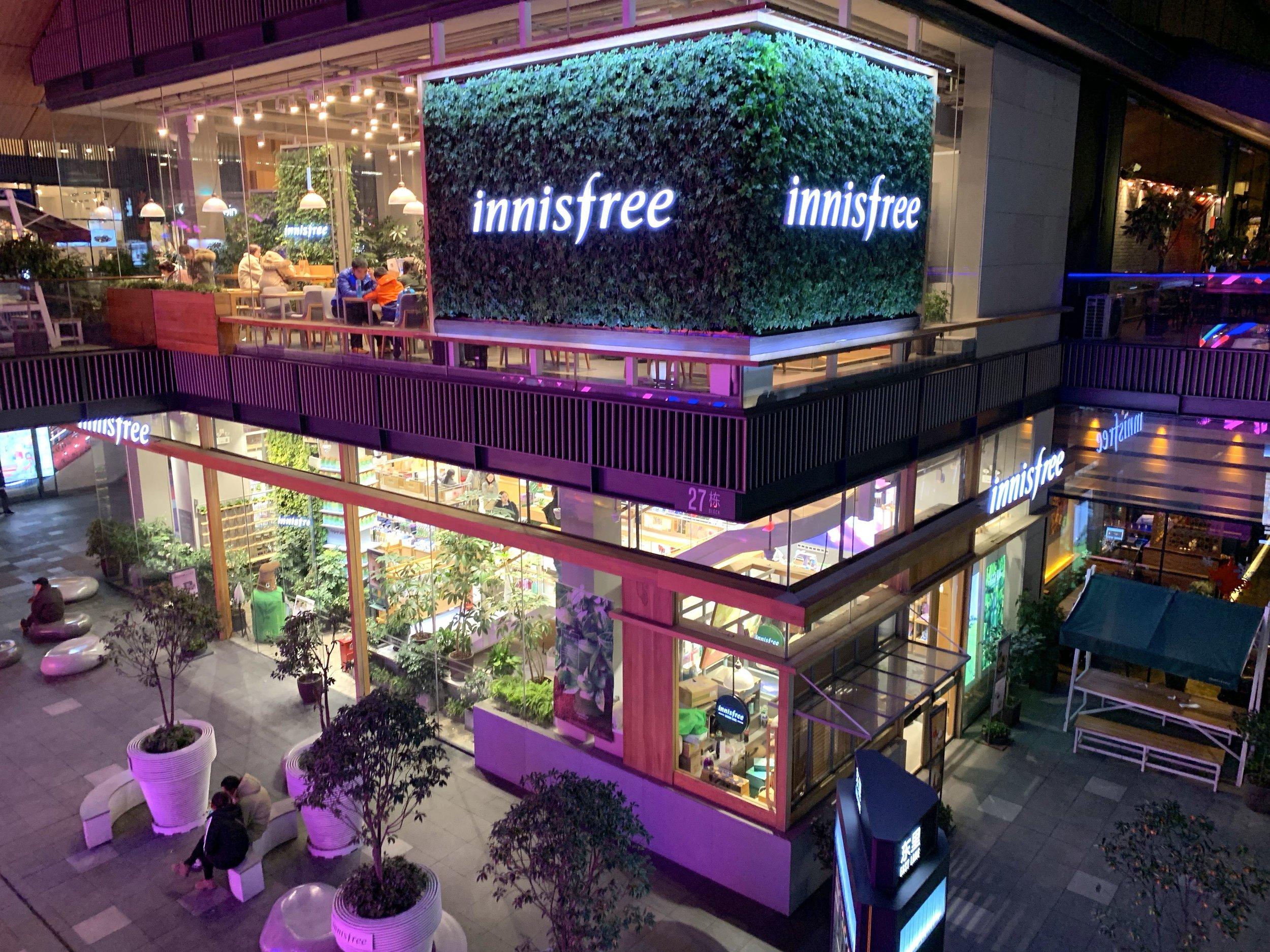 Innisfree, Taikoo Li, Chengdu