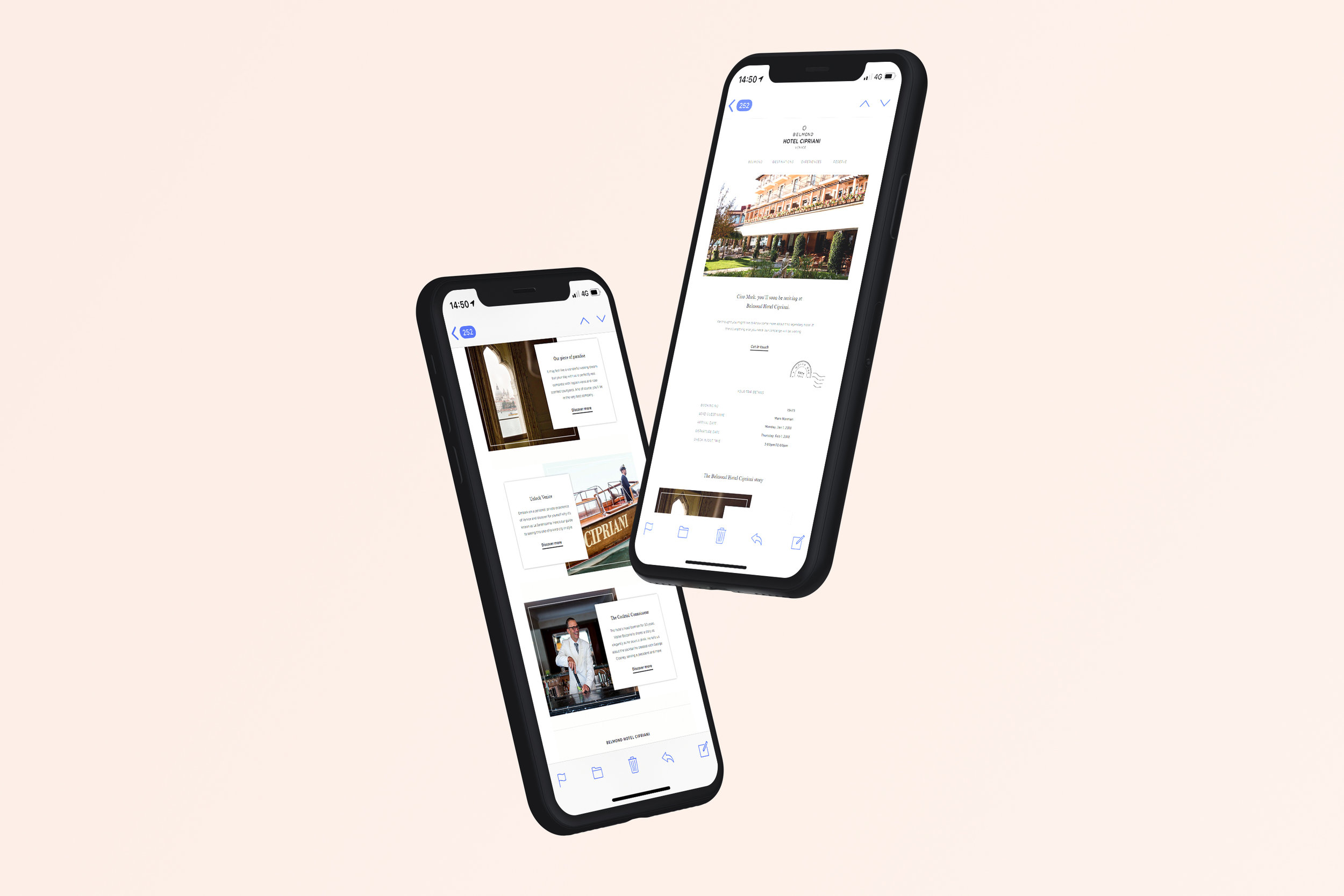 Email Marketing - Belmond
