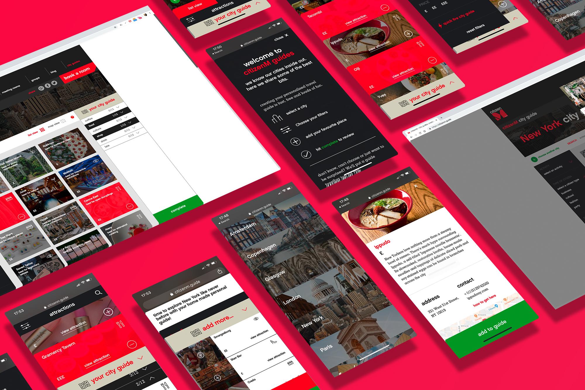 Web Design - citizenM