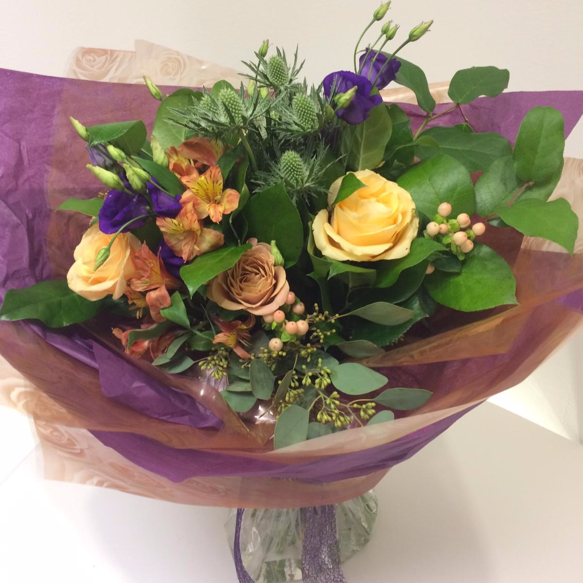 Bouquets - Designs for any occasion, all fully customisable with your choice of colours, flower types, and wrappings.