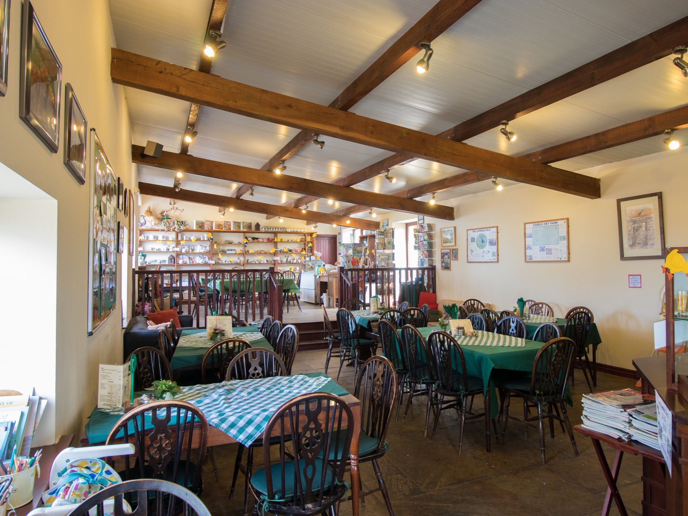CAFE - Enjoy light lunches, hot and cold drinks, and homemade cakes in the farm cafe.
