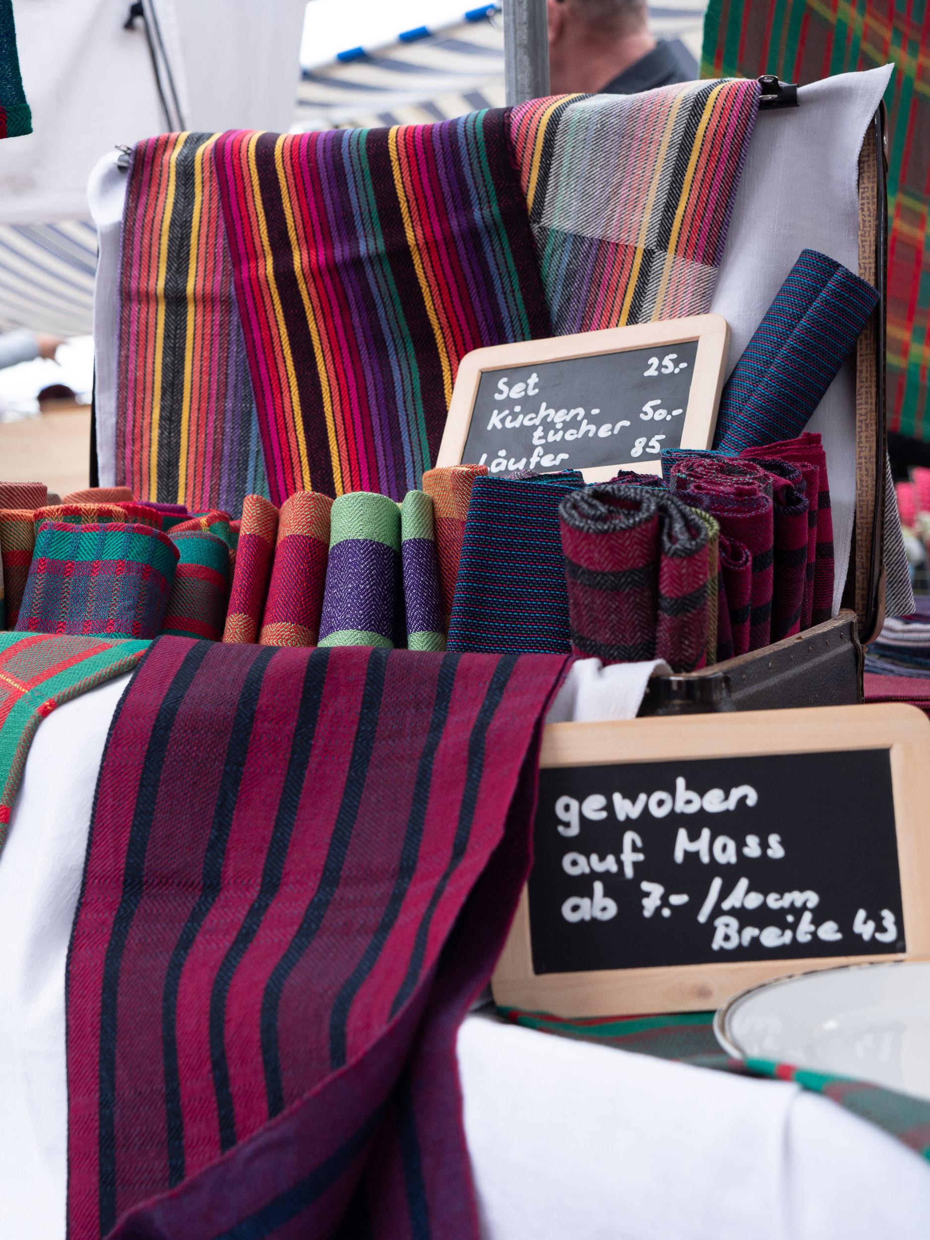 Auf dem Markt in Zug -