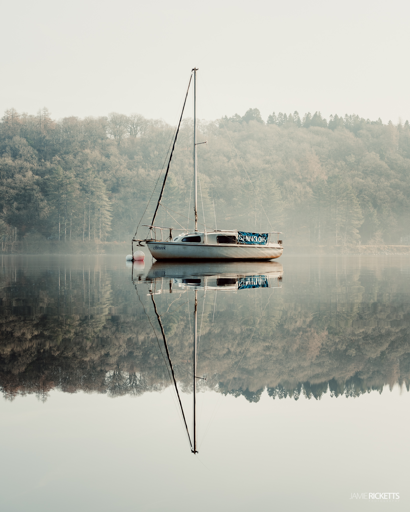 Lake Vyrnwy, Powys.
