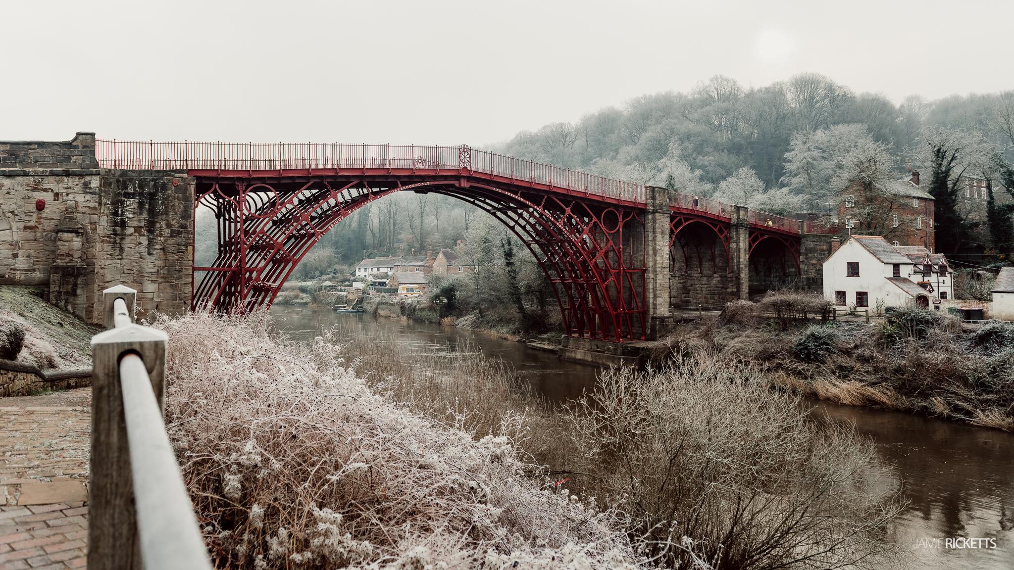 The Iron Bridge, Telford.