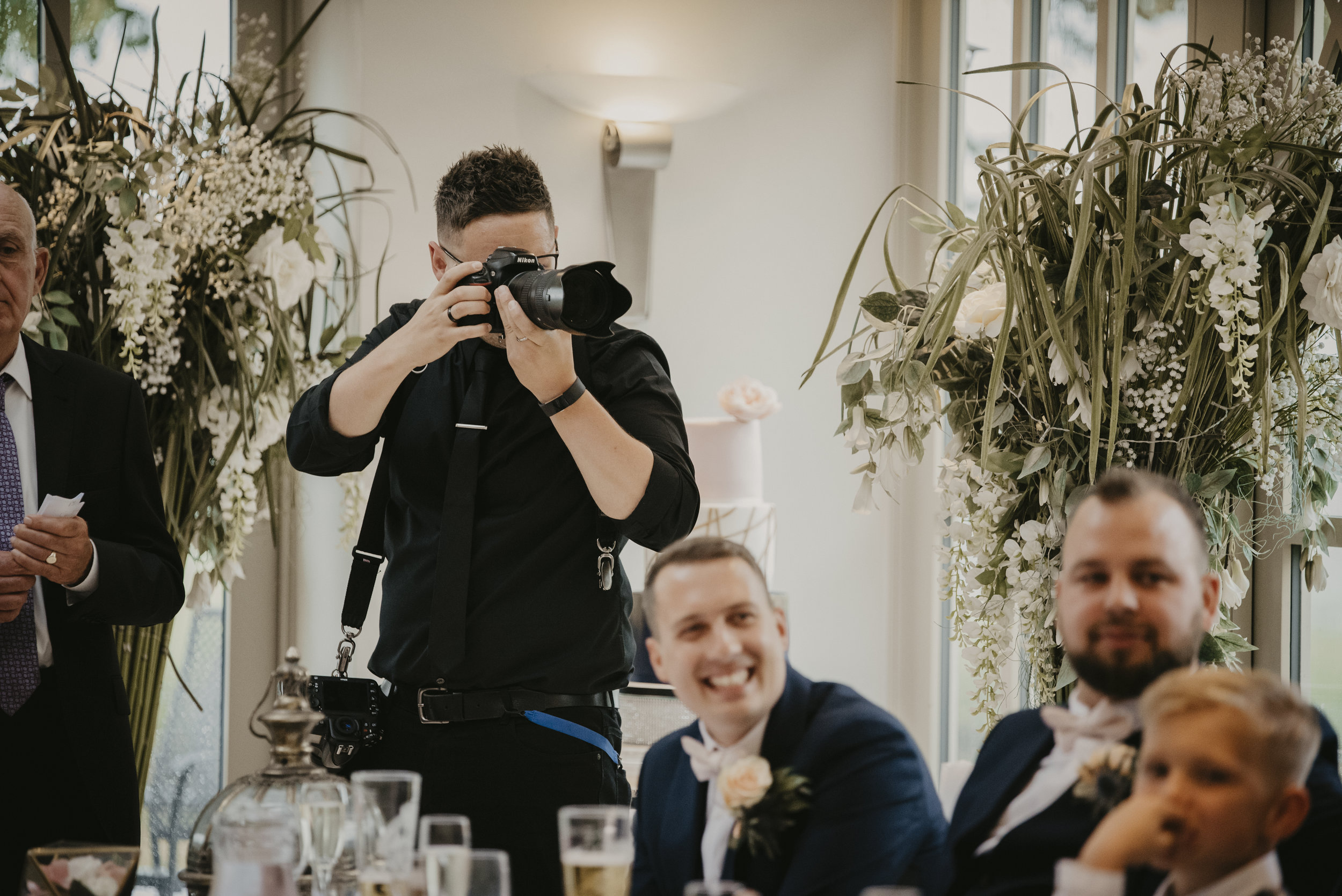 Jamie Ricketts - AT A WEDDING - 2018 - TAKEN BY WHITE APPLE PHOTOGRAPHY...