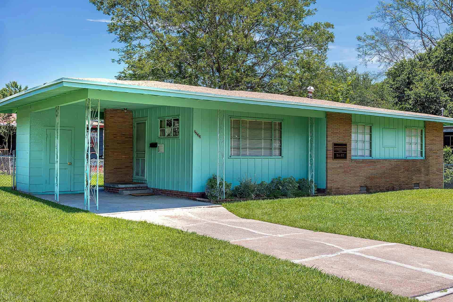 Medgar and Myrlie Evers Home National Monument    Photo: Courtesy of the U.S. Civil Rights Trail
