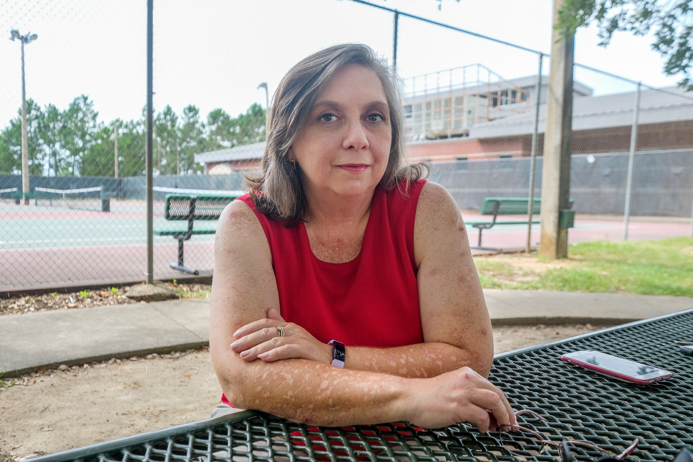 Susan Wright, 51, finds calm after a near half century of struggle with anxiety.   Charles A. Smith/Mississippi Center for Investigative Reporting