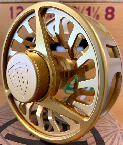 Taylor Array V2 - Gold 6-8wt$290 - Salt, fresh, creek, stream, swamp…The Array V2 is the prefect all-rounder. A beautiful, sleek aesthetic pairs with drag mechanics to back it up. Look good, fish good. Call, or email for availability.386-643-7300 / info@youngoutfitter.com