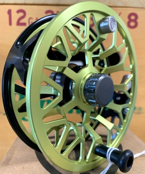 Taylor T-1 Golden Olive 6-8wt - Excuse the cliche, but this reel is light as a feather. A strong, fully sealed drag system means you won't sacrifice weight for gumption. Call, or email for availability.386-643-7300 / info@youngoutfitter.com
