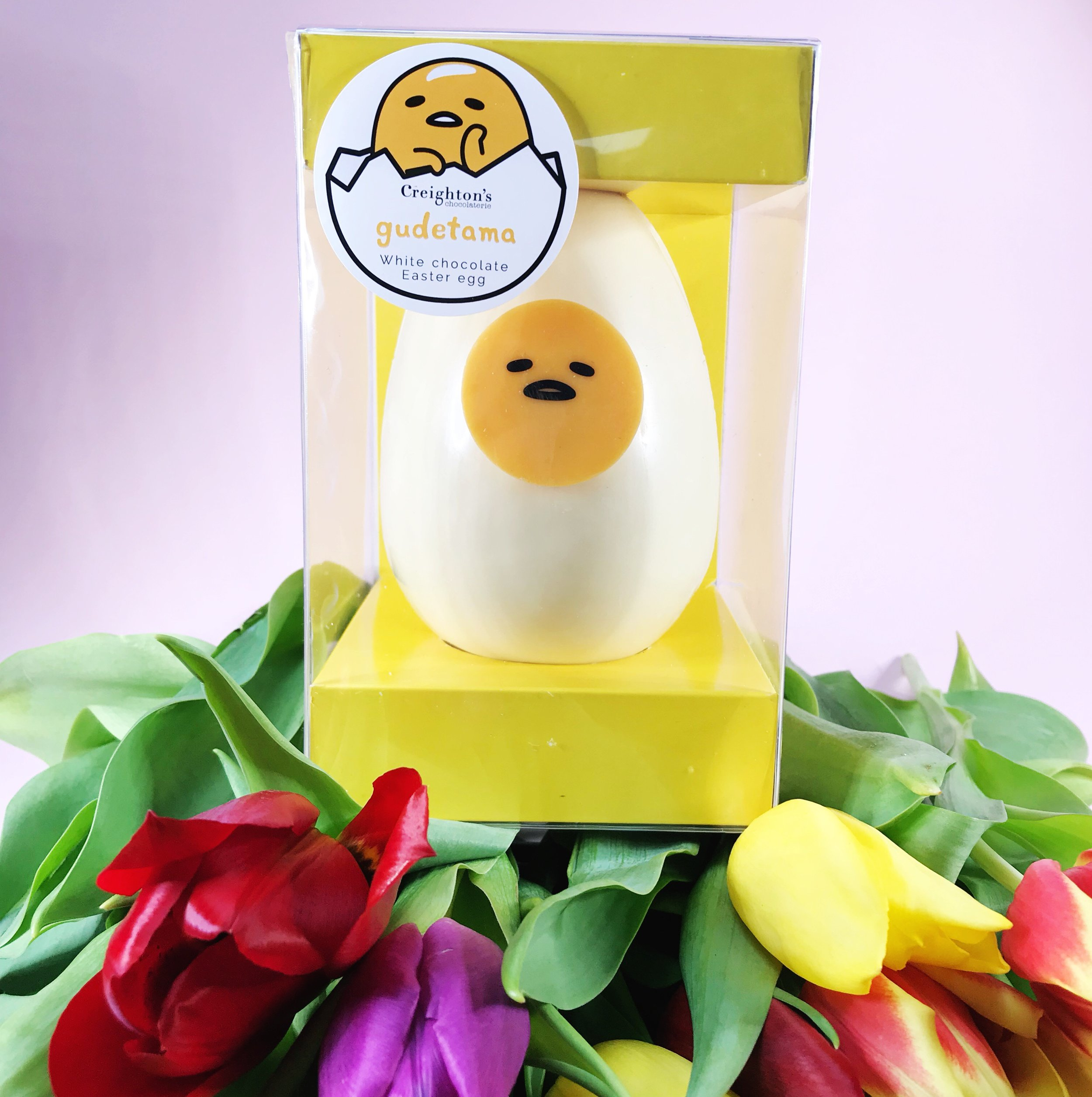 Creighton's x Gudetama the one and only Easter Egg