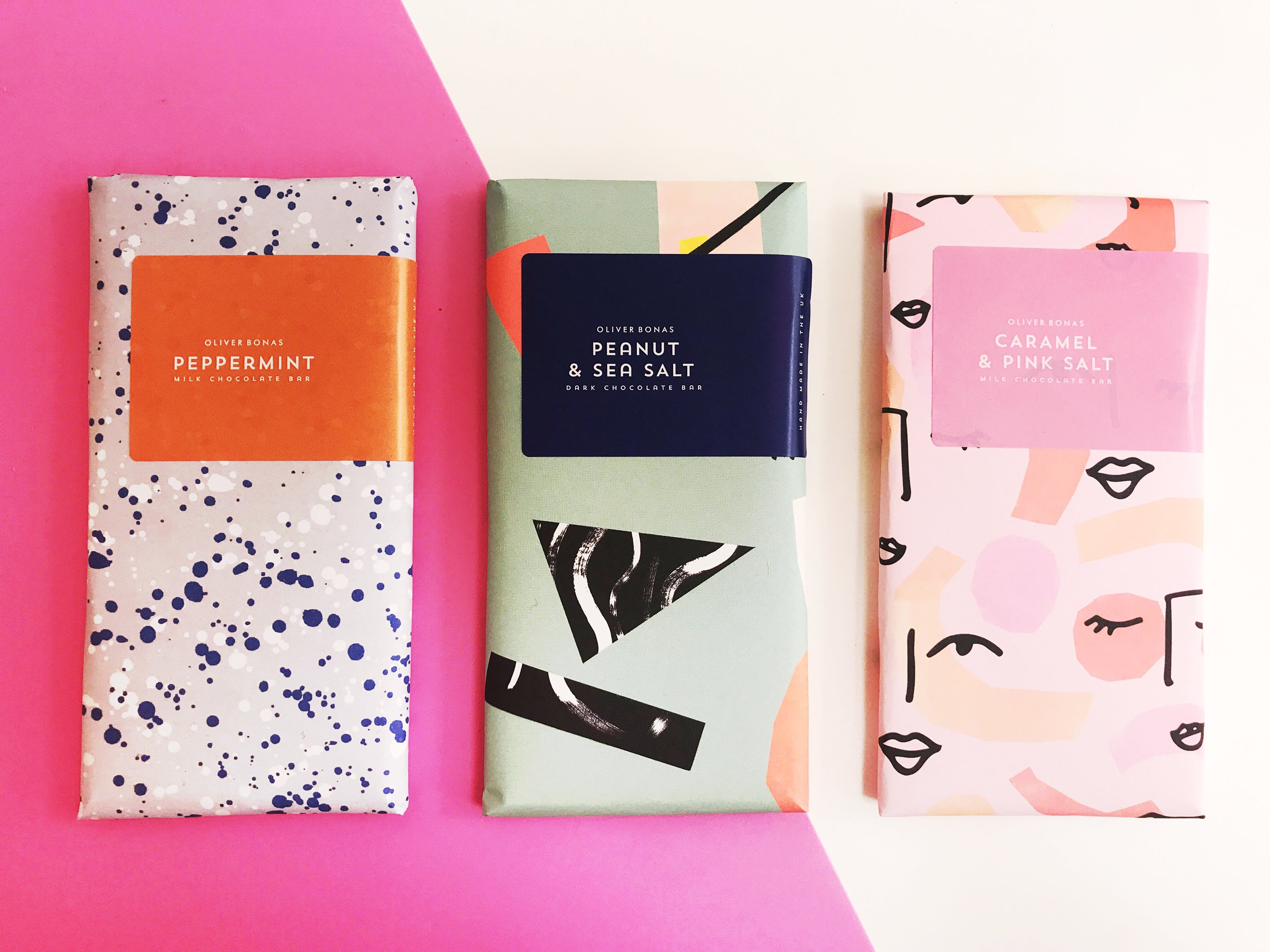 Creighton's x Oliver Bonas Exclusive Chocolate Bars