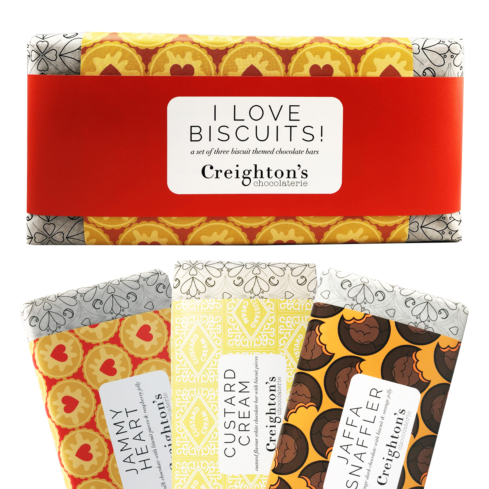 Creighton's Biscuit Chocolate gift set